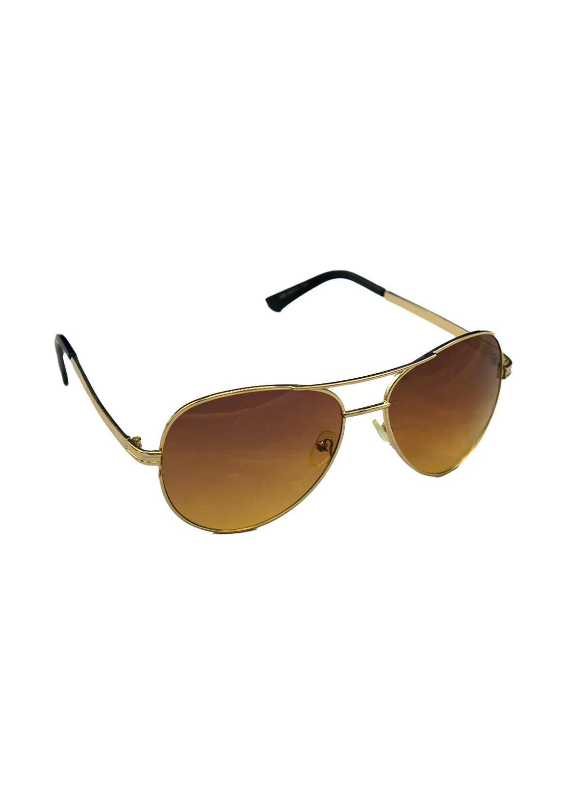 نظارات شمسية نسائية بني اللون