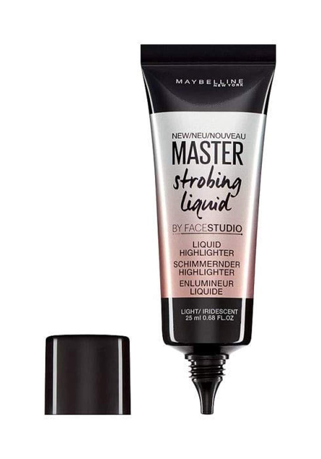 (022-0692) Maybelline Master Strobing Liquid Illuminating Highlighter 100 Light Iridescent 25ml هايلايتر