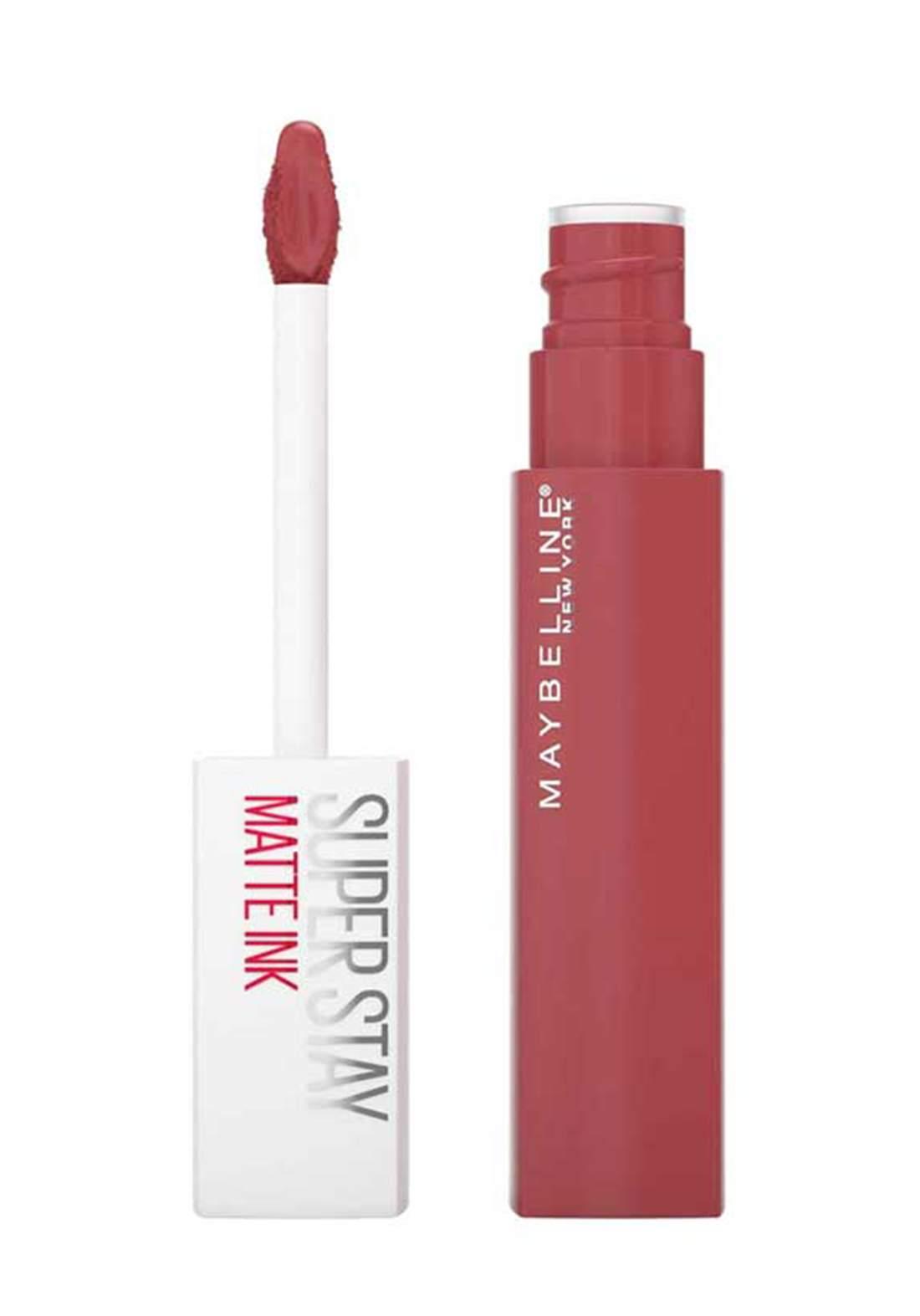(022-1263)Maybelline SuperStay Matte Ink Liquid Lipstick 5 ml Initia No:170 احمر شفاه