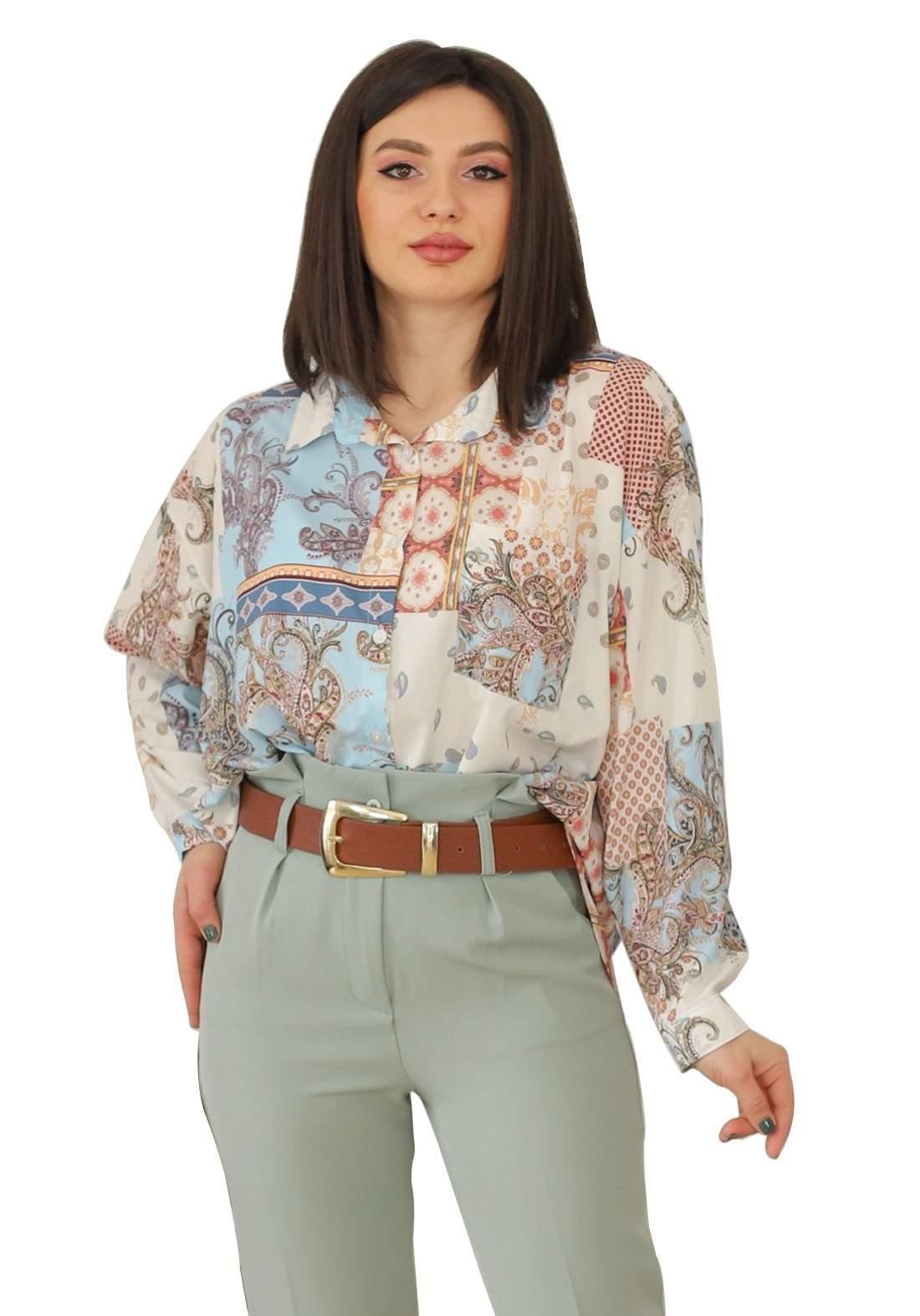 قميص فيرزاتجي اخضر اللون