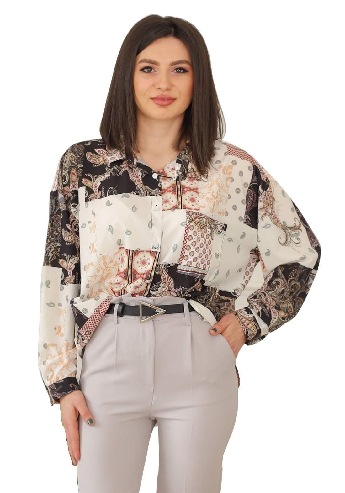 قميص فيرزاتجي اسود اللون