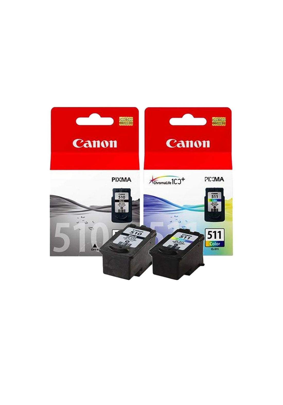 Canon PG510/ CL511 Ink Cartridges - Black خرطوشة حبر