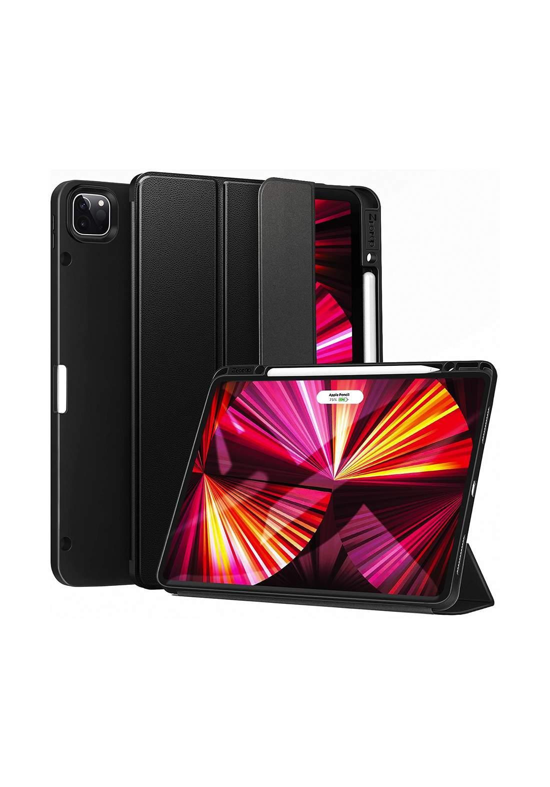 Mutural Cover Ipad Pro 12.9 Inch 2022 - Black  حافظة ايباد