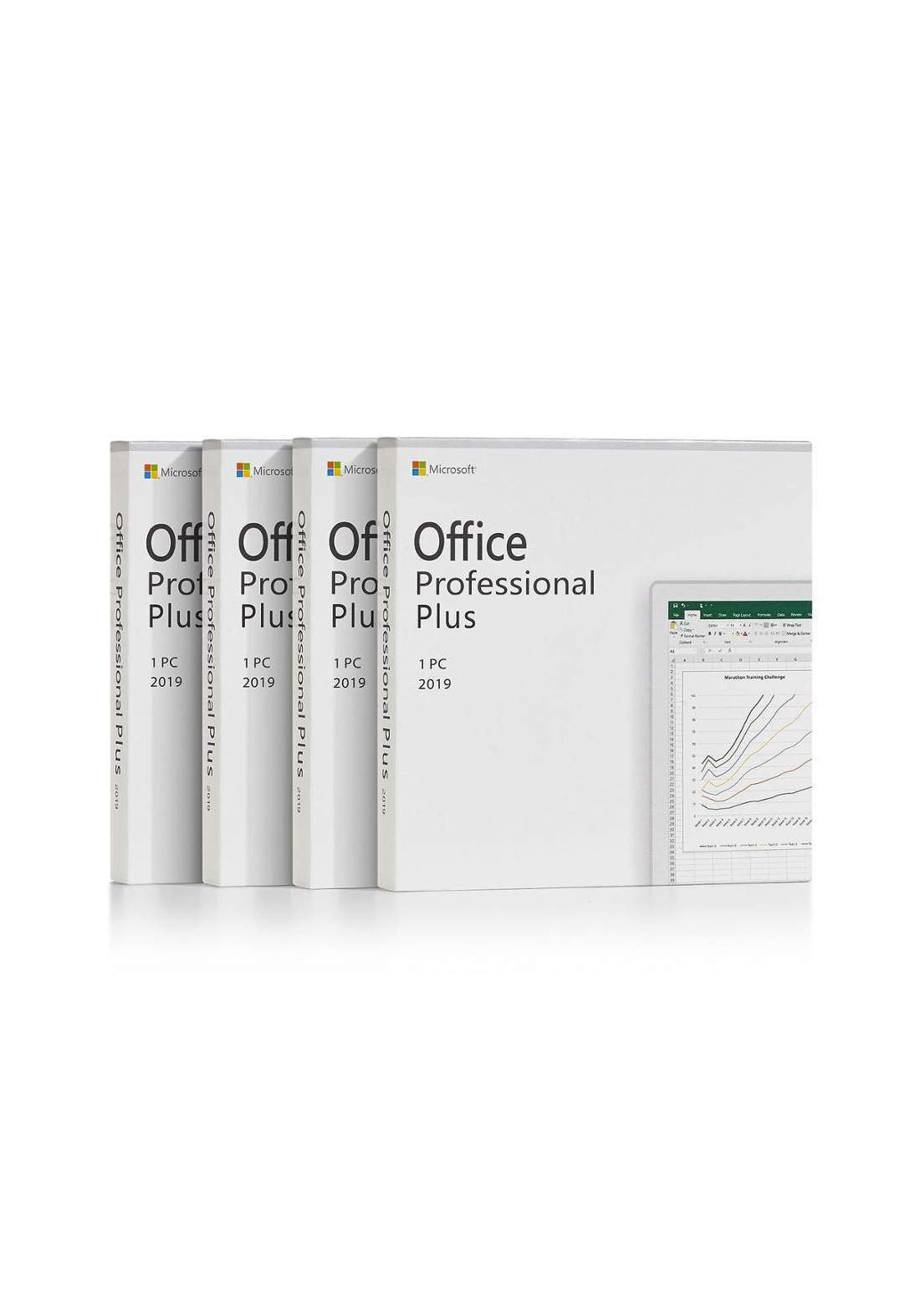 MS Office 2019 Professional Plus For 1pc ( Lifetime )