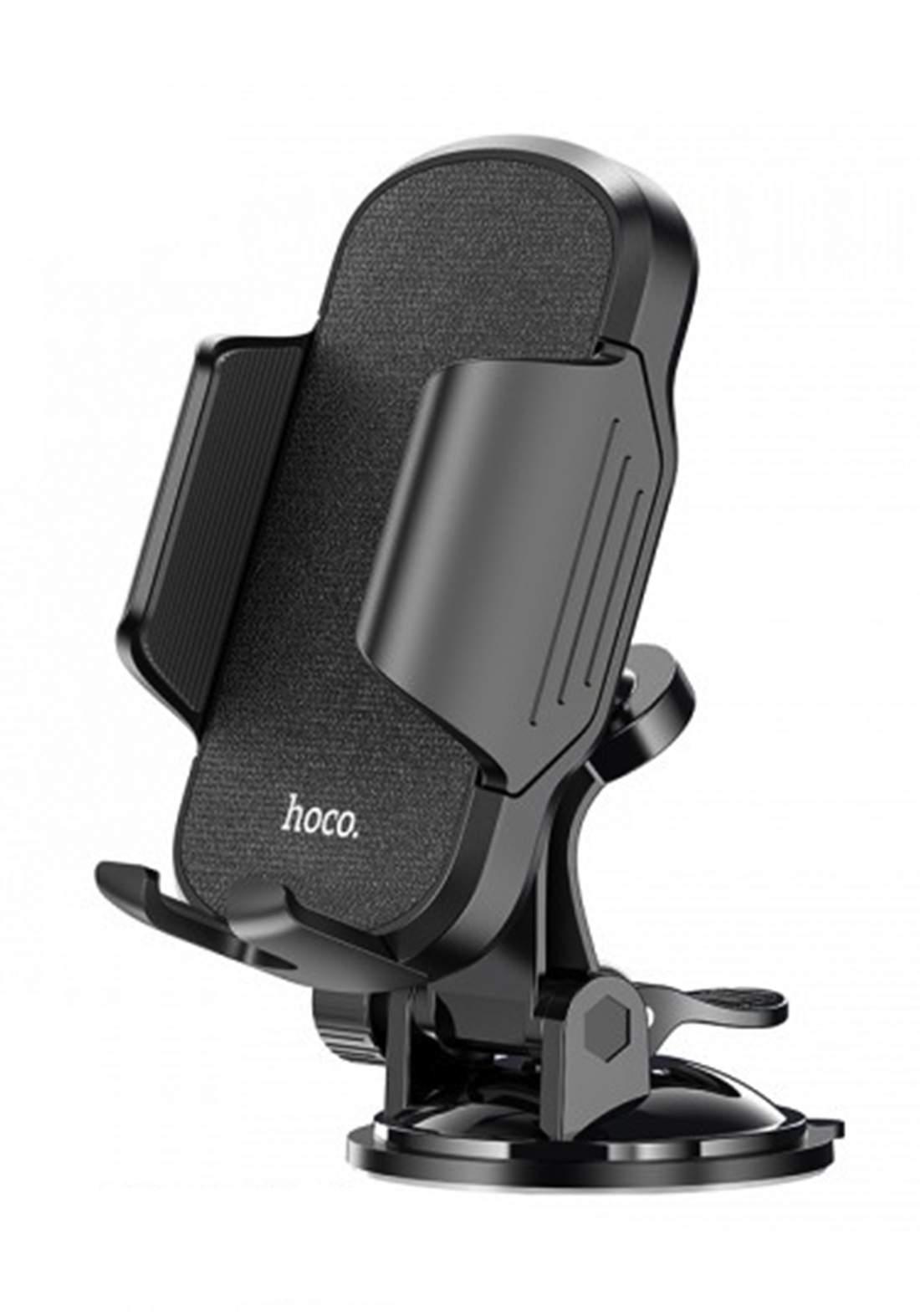 Hococ CA82 Anti-Shake And Stable Car Holder - Black حامل موبايل