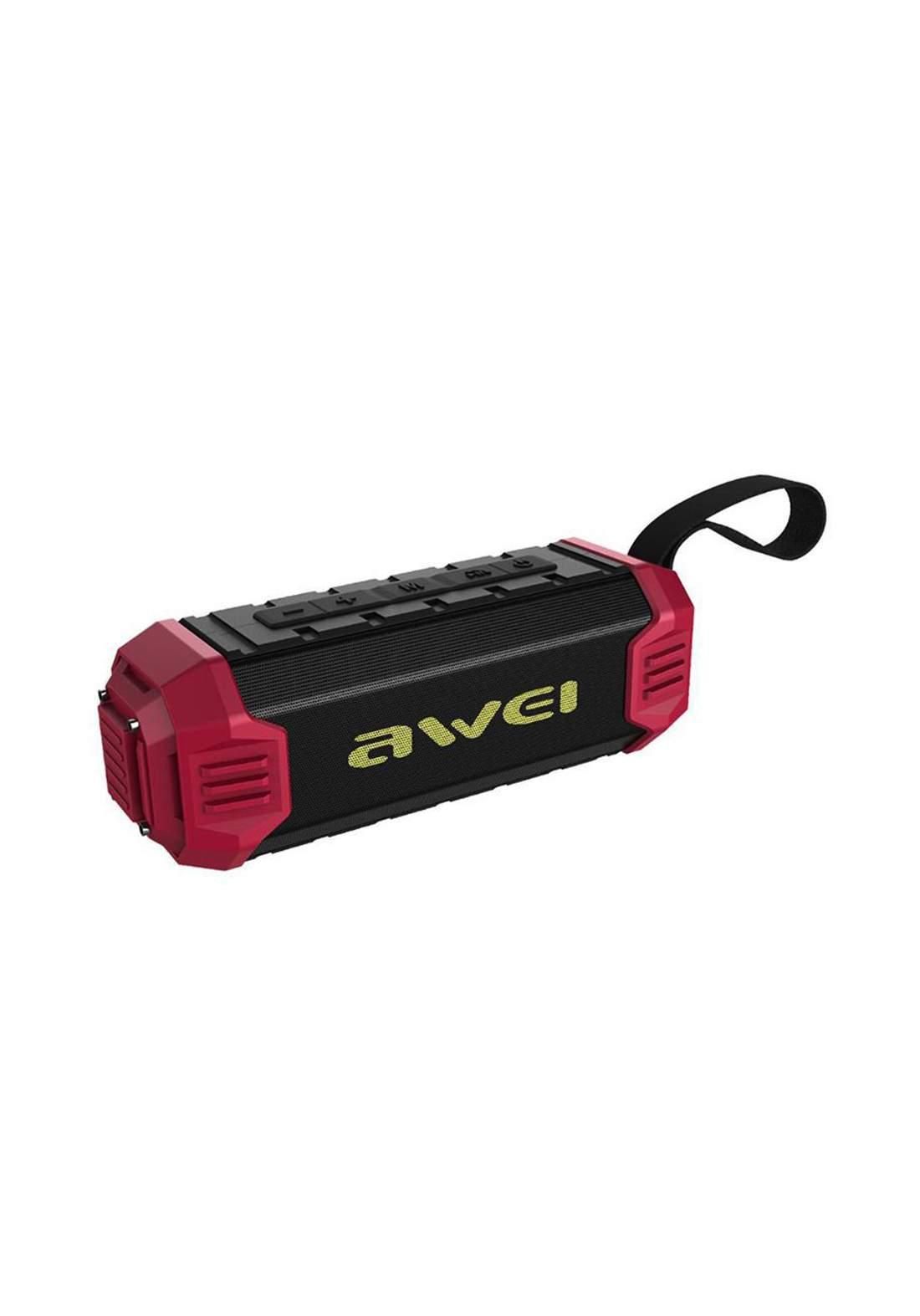 Awei Y280 Portable Bluetooth Speaker - Red سبيكر