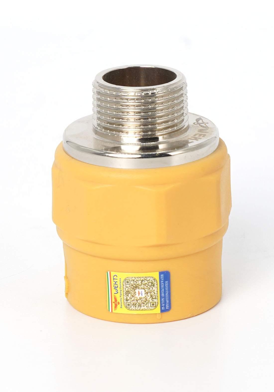 "Wekts 5120 Connector Pipe /Adapter  25 × 3/4"" سن  انابيب   ماء خارجي"