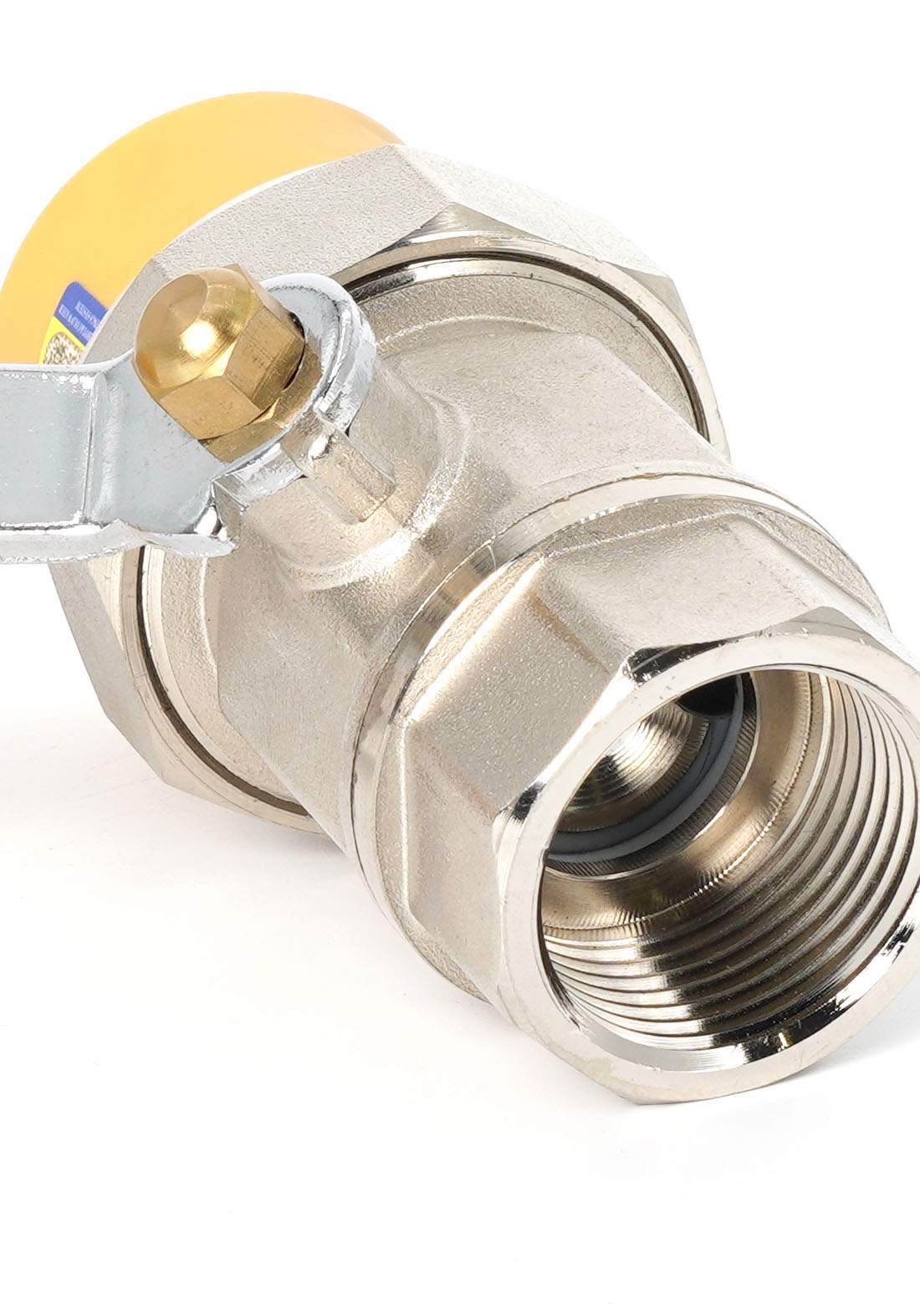Wekts The double ion lock has an external tooth 50 mm قفل مزدوج سن خارجي لأنابيب المياه