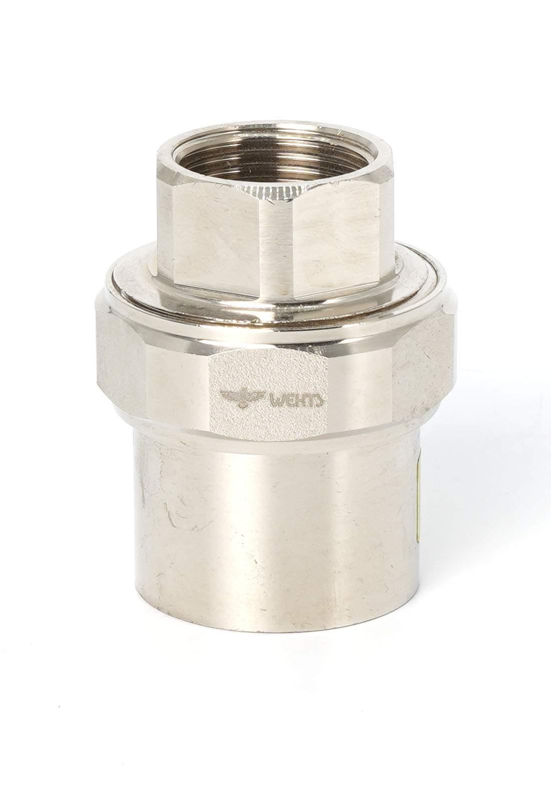 "Wekts 5280 Connector Pipe / Adapter 4/3 × 25"" سن انابيب داخلي براص"