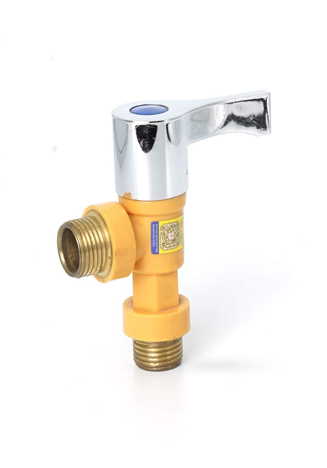 Wekts 5751 Water Pipe Colser  قفل انابيب زاوية سن براص ذراع