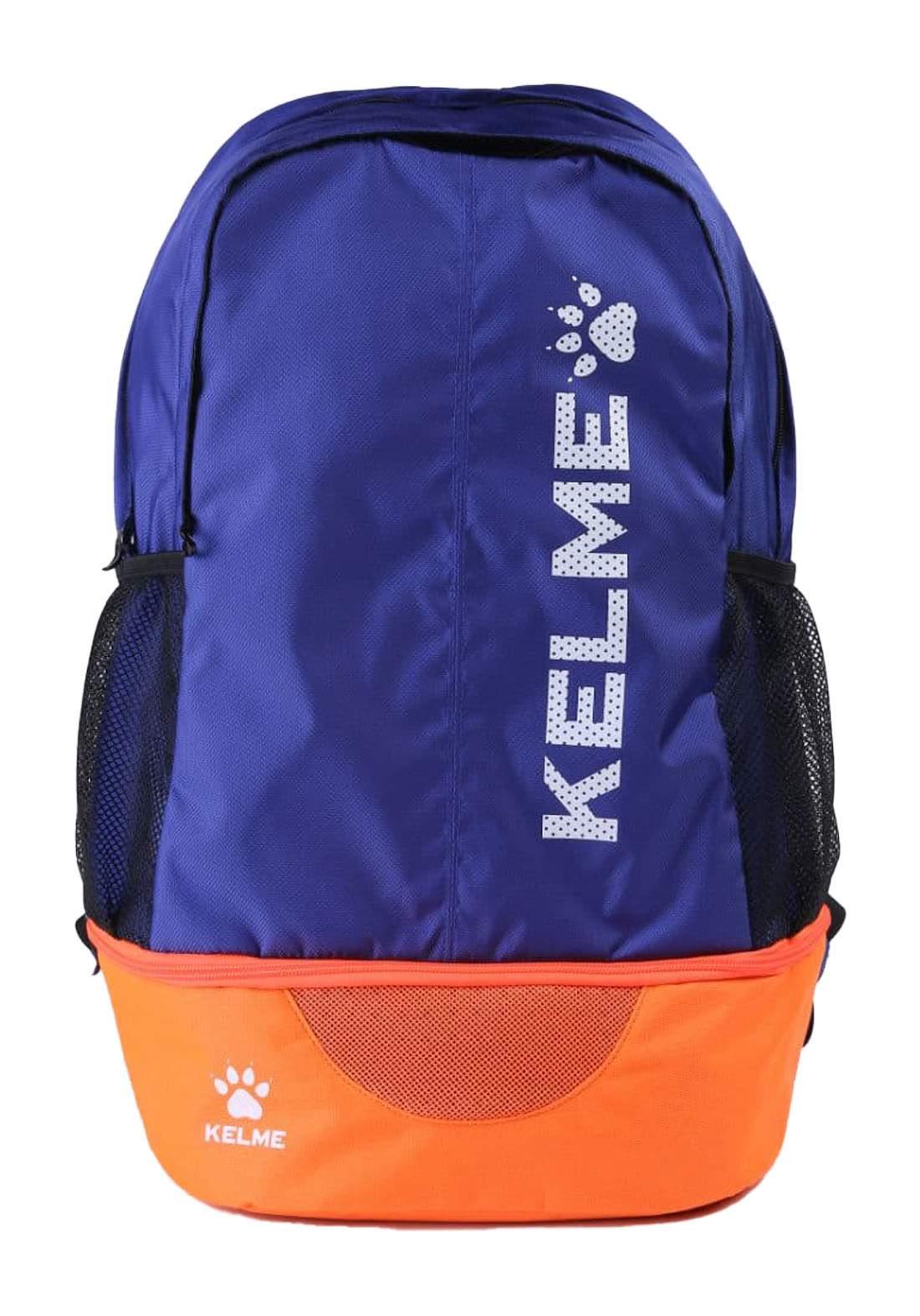 حقيبة ضهر رياضية  ازرق وبرتقالي اللون من Kelme