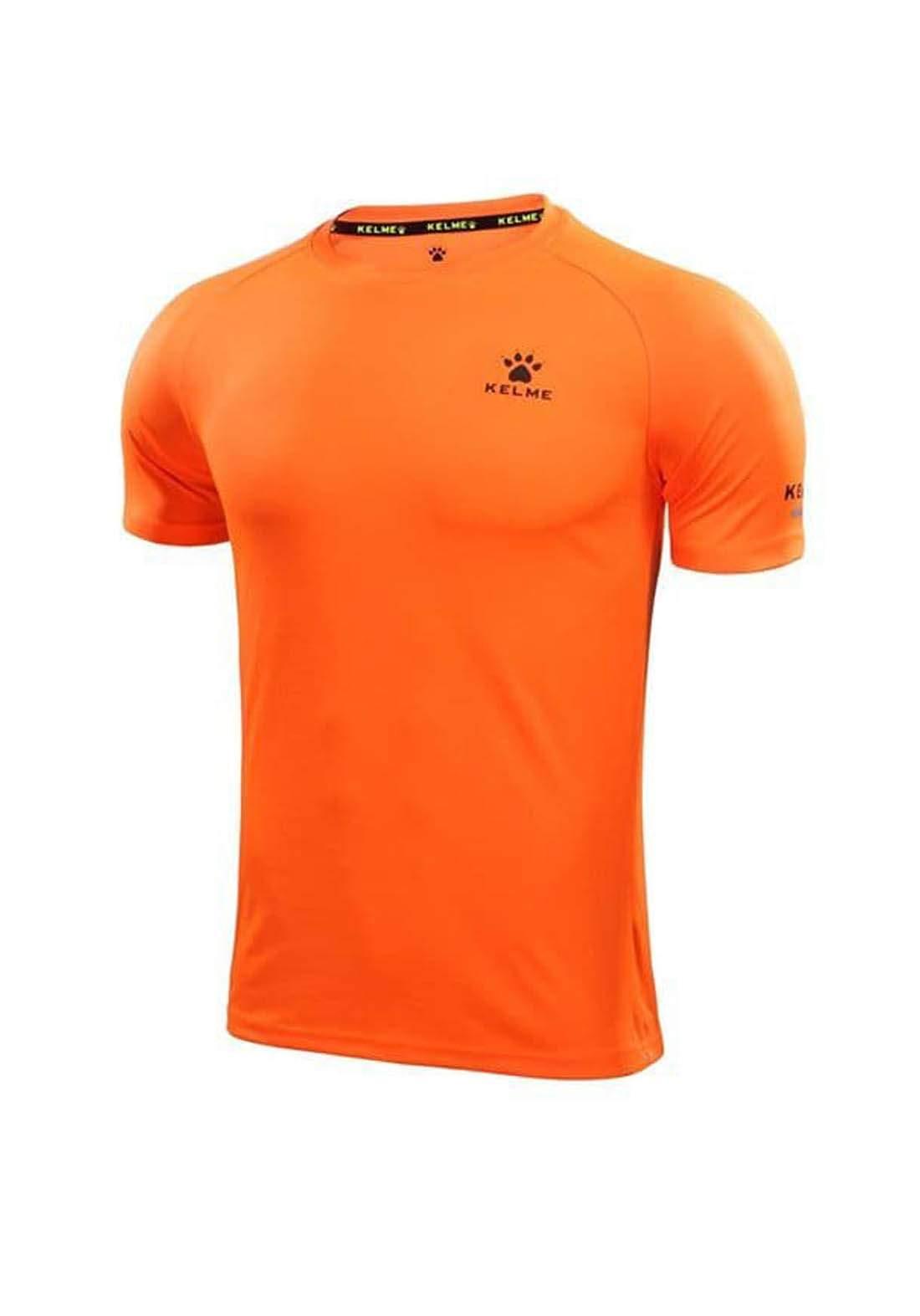 تيشيرت رياضي رجالي برتقالي اللون من Kelme