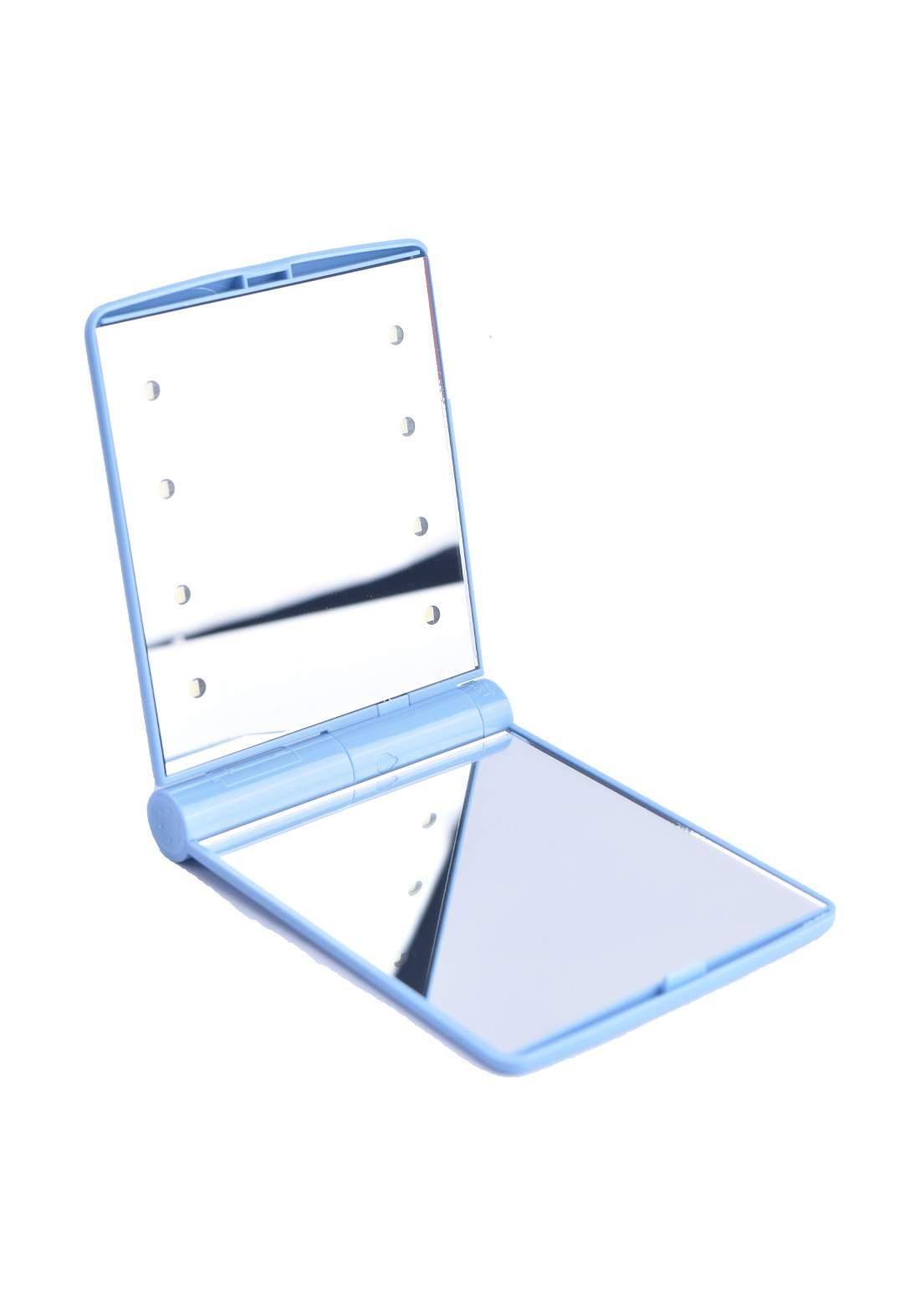 Folding Cosmetic Mirror  With Led مرآة مستطيلة مع انارة ضوئية