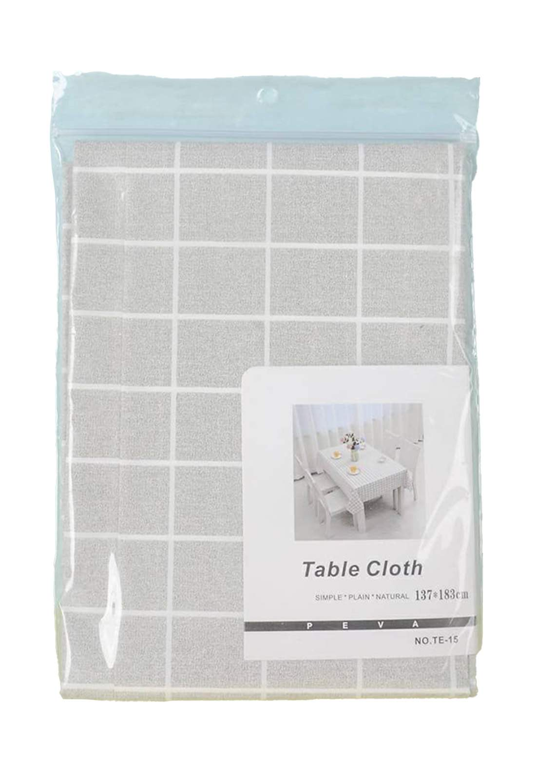 Nordic plaid waterproof tablecloth مفرش طاولة