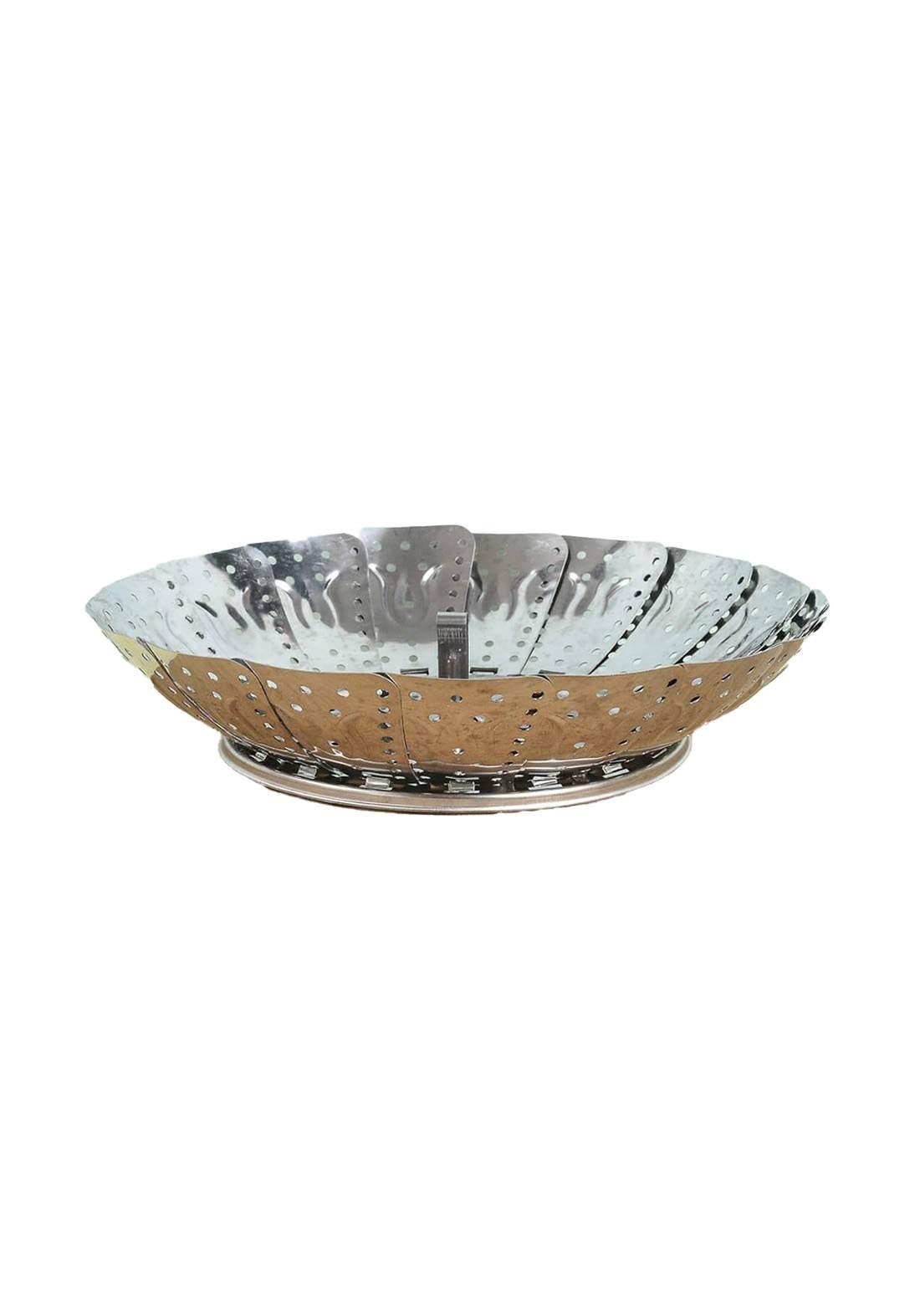 Stainless steel Basket مصفي معدني قابل للطي