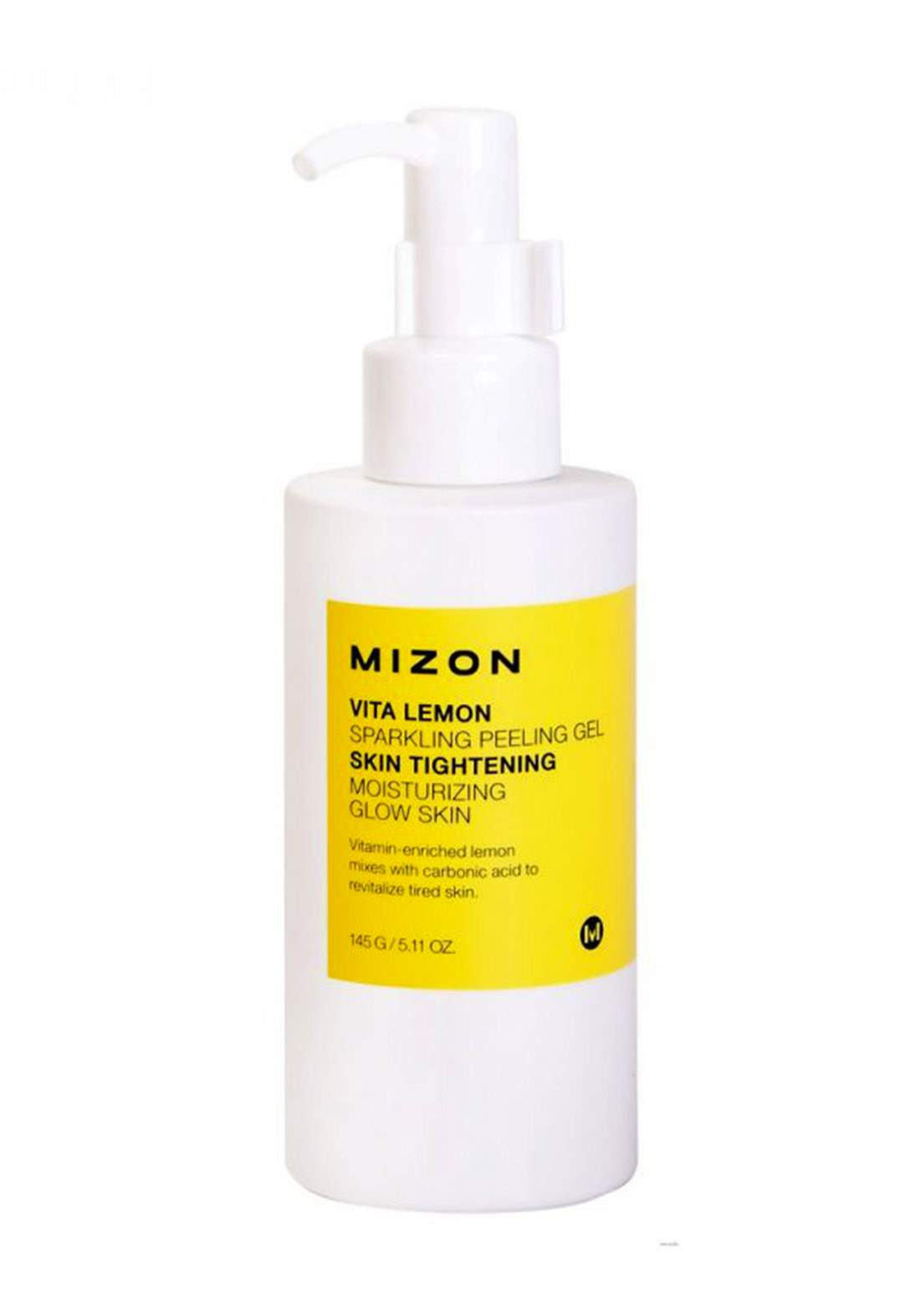 Mizon Vita Lemon Sparkling Peeling Gel 150g جل التقشير