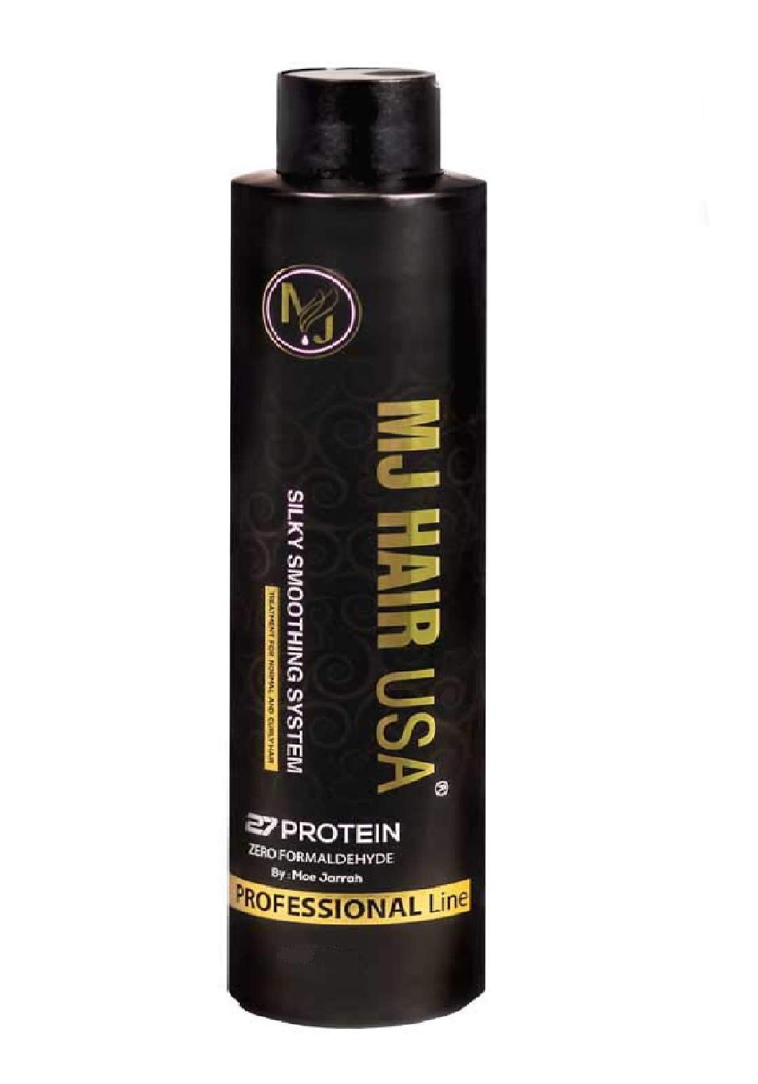 MJ Hair Silky Smoothing System 27 Protein Zero Formaldehyde 120ml  مسرح للشعر
