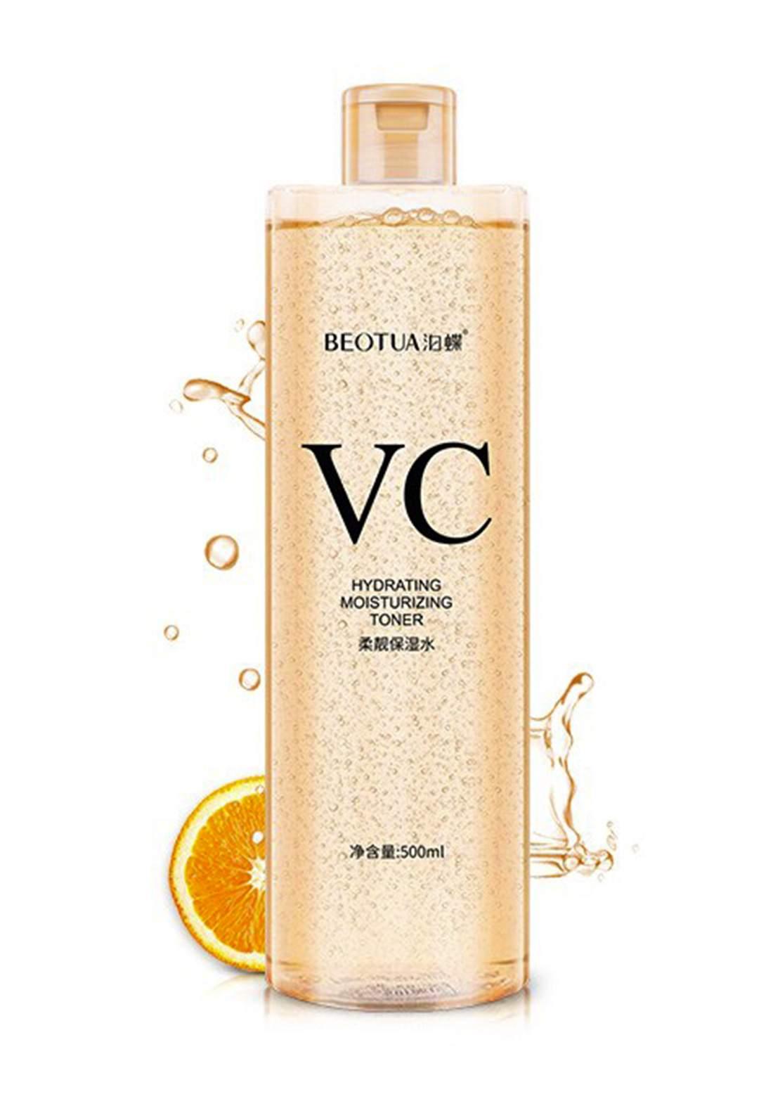 Beotua Vc Hydrating Vitamin C Toner 500ml تونر للبشرة