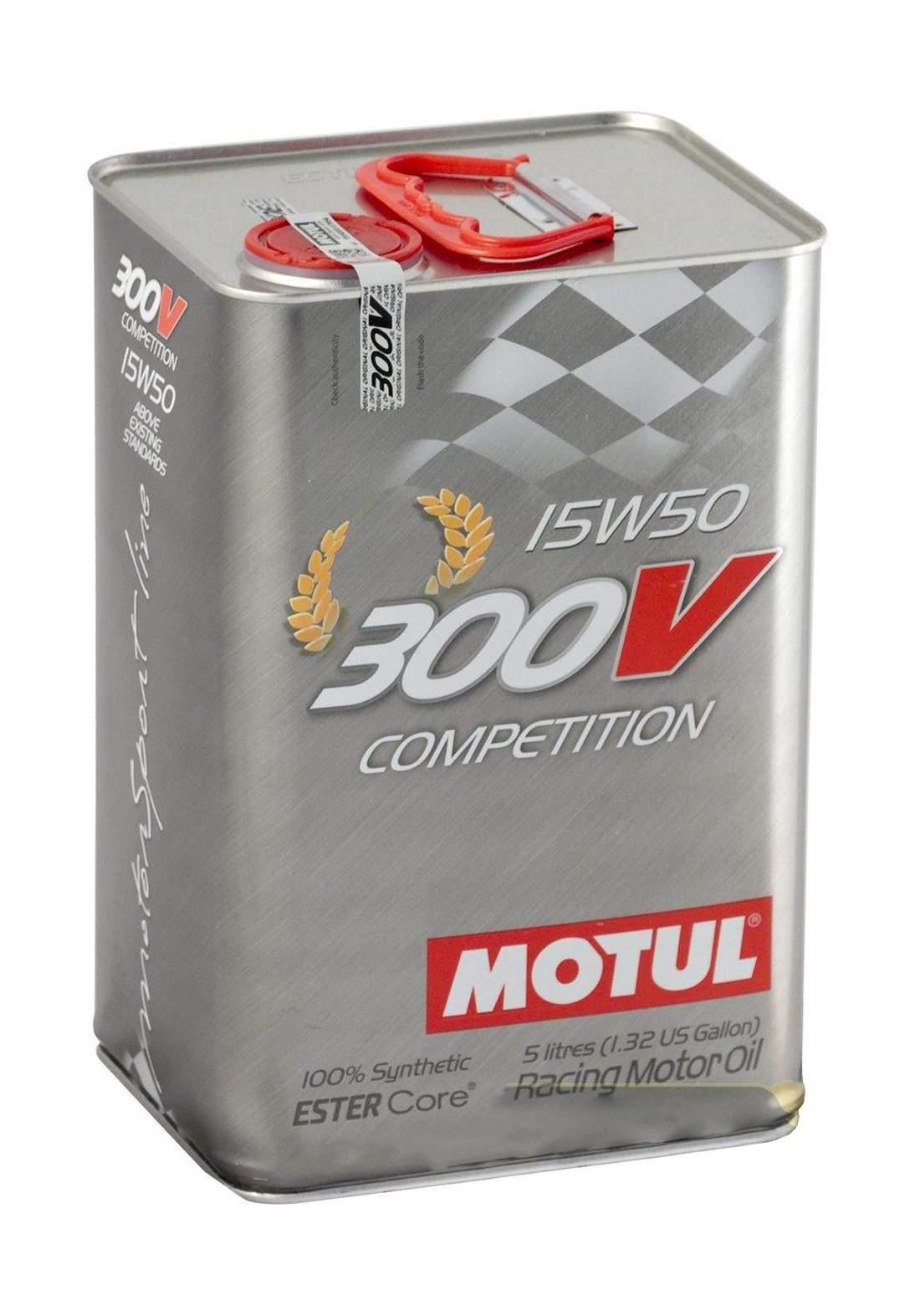 Motul 300v 15w50  Ester Core Oil Launched  2 L زيت محرك السيارة والدراجة