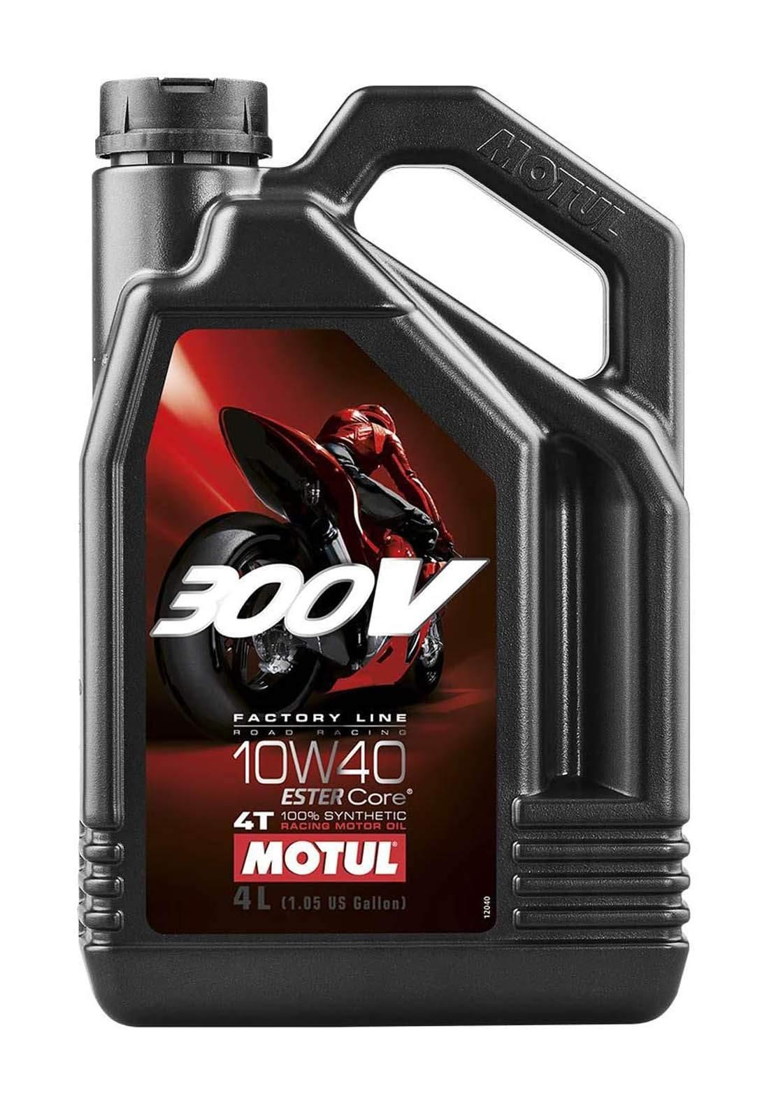 Motul 300v 10w40 4T Factory Line Road Racing Motor Oil 4 زيت محرك السيارة والدراجة