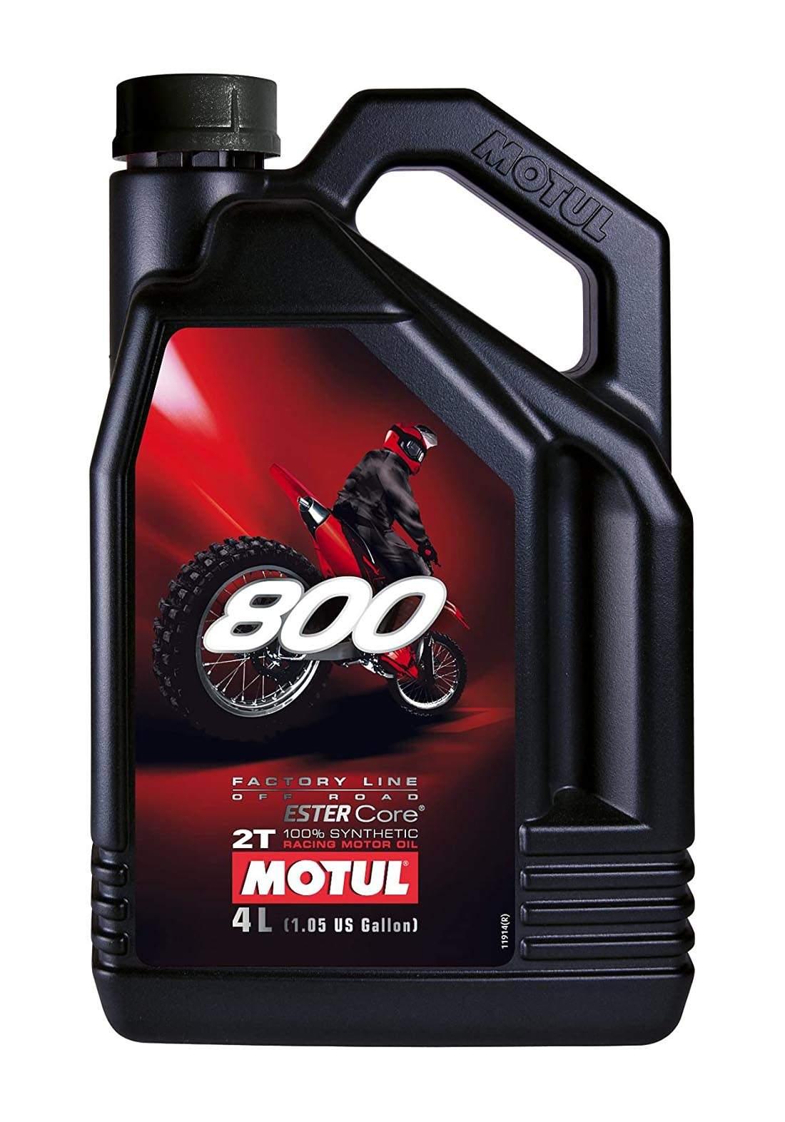 Motul 2T 800 Engine Oil  for 2-stroke 4 L زيت محرك الدراجة النارية