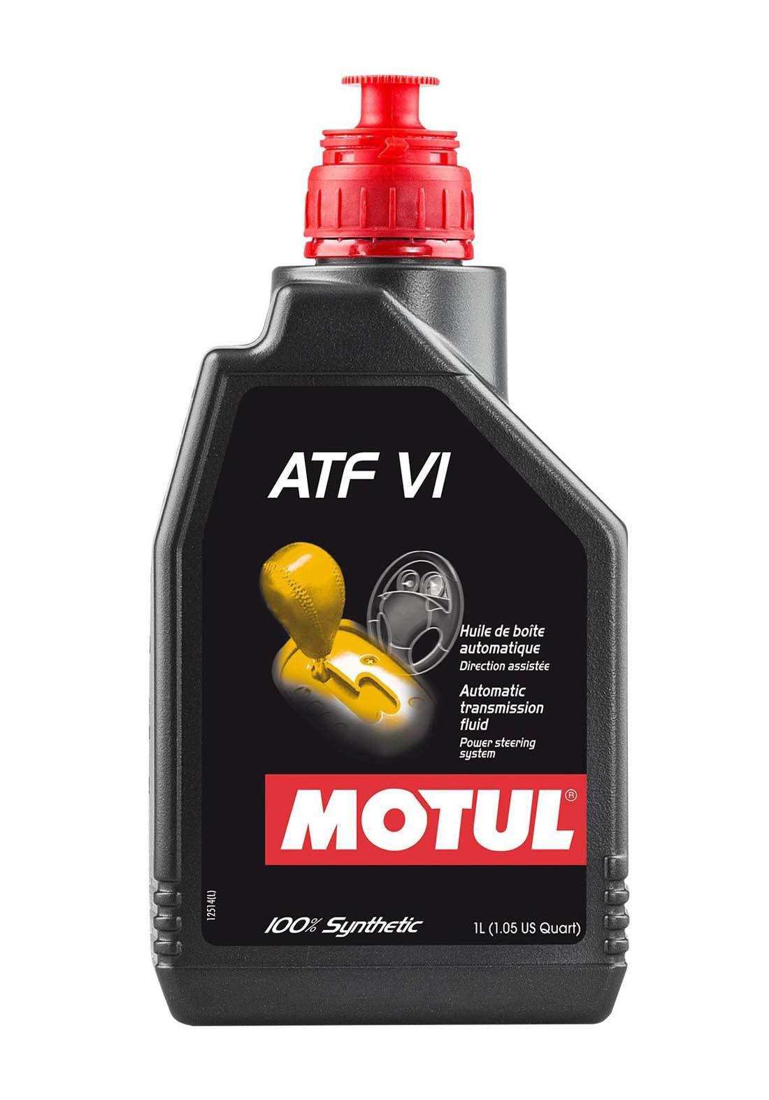 Motul ATF VI Low viscosity Automatic Transmission Fluid 1 L زيت لناقل الحركة