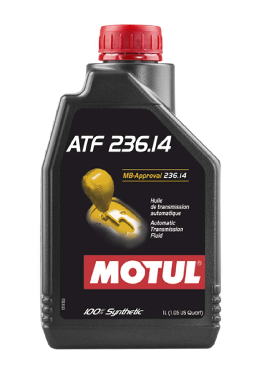 Motul ATF 236.14 Automatic Transmission Fluid For Mercedes Benz Cars 1 L زيت ناقل الحركة الأوتوماتيكي خاص لسيارات مرسيدس بنز