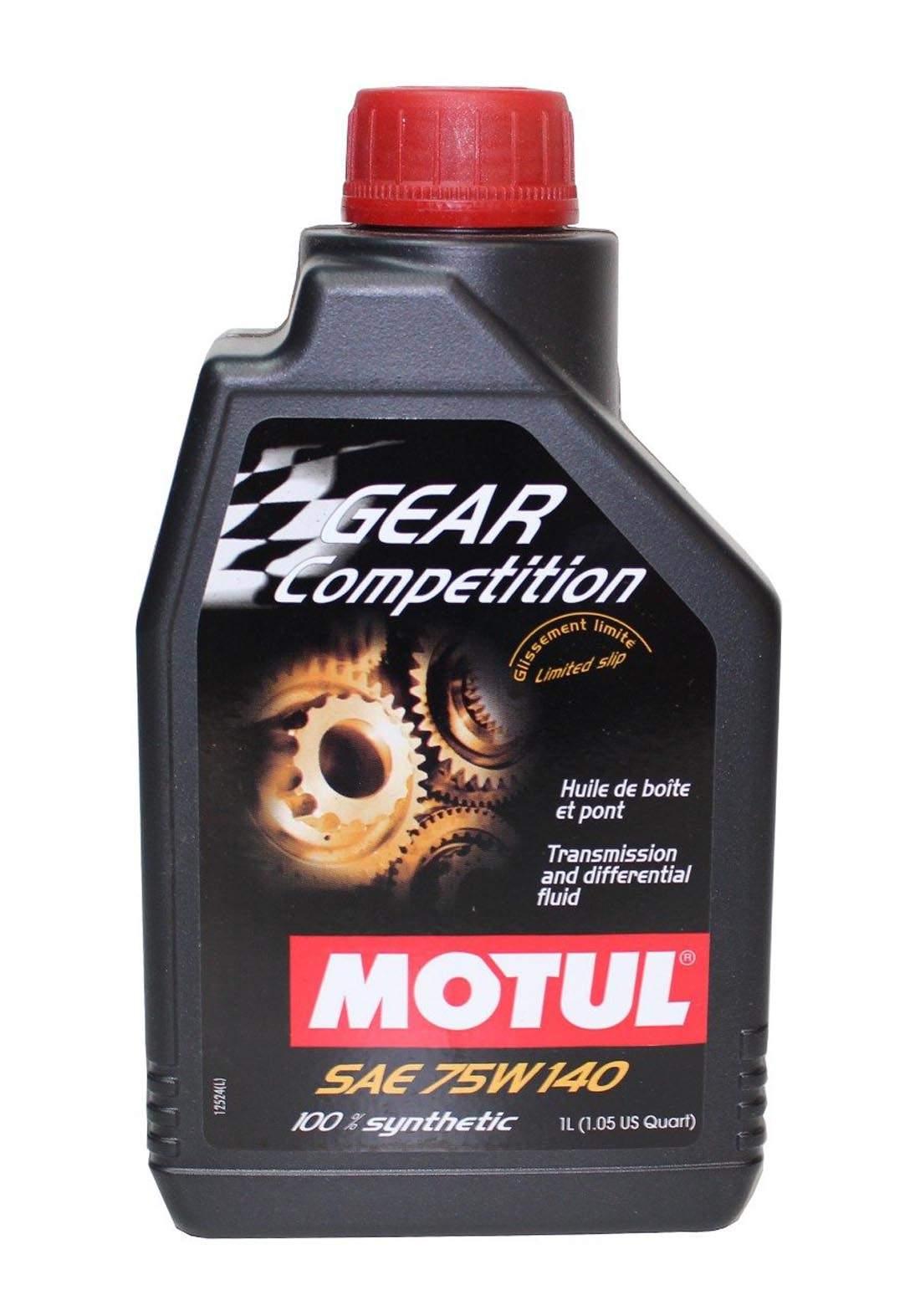 Motul 75w140 Gear Comptition  Gear oil 1 L زيت ناقل الحركة اليدوي