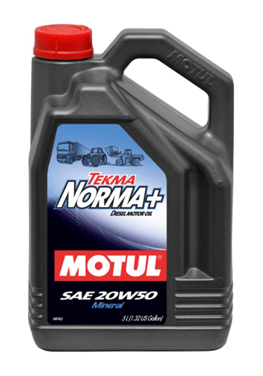 Motul 50 Tekma Norma Constant -Mineral Oil 5 L زيت معدني ثابت للمولدات والسيارات