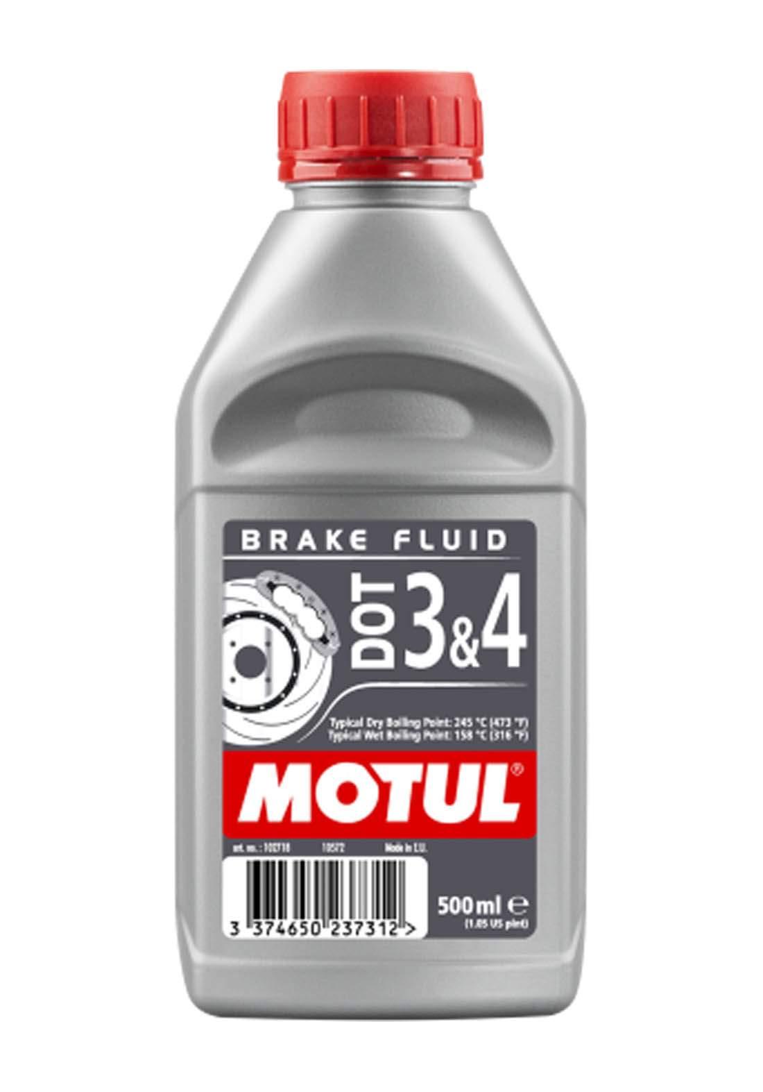 Motul Dot3&4 Brake Fluid  Fully Synthetic 500 ml زيت للفرامل