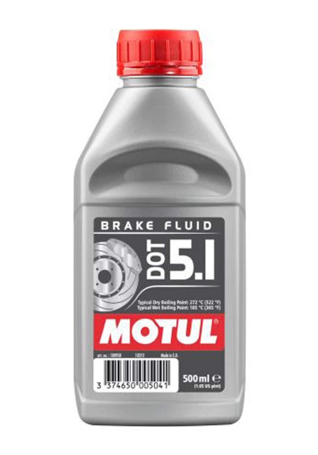 Motul Dot5.1Brake Fluid  fully synthetic 500 ml زيت للفرامل