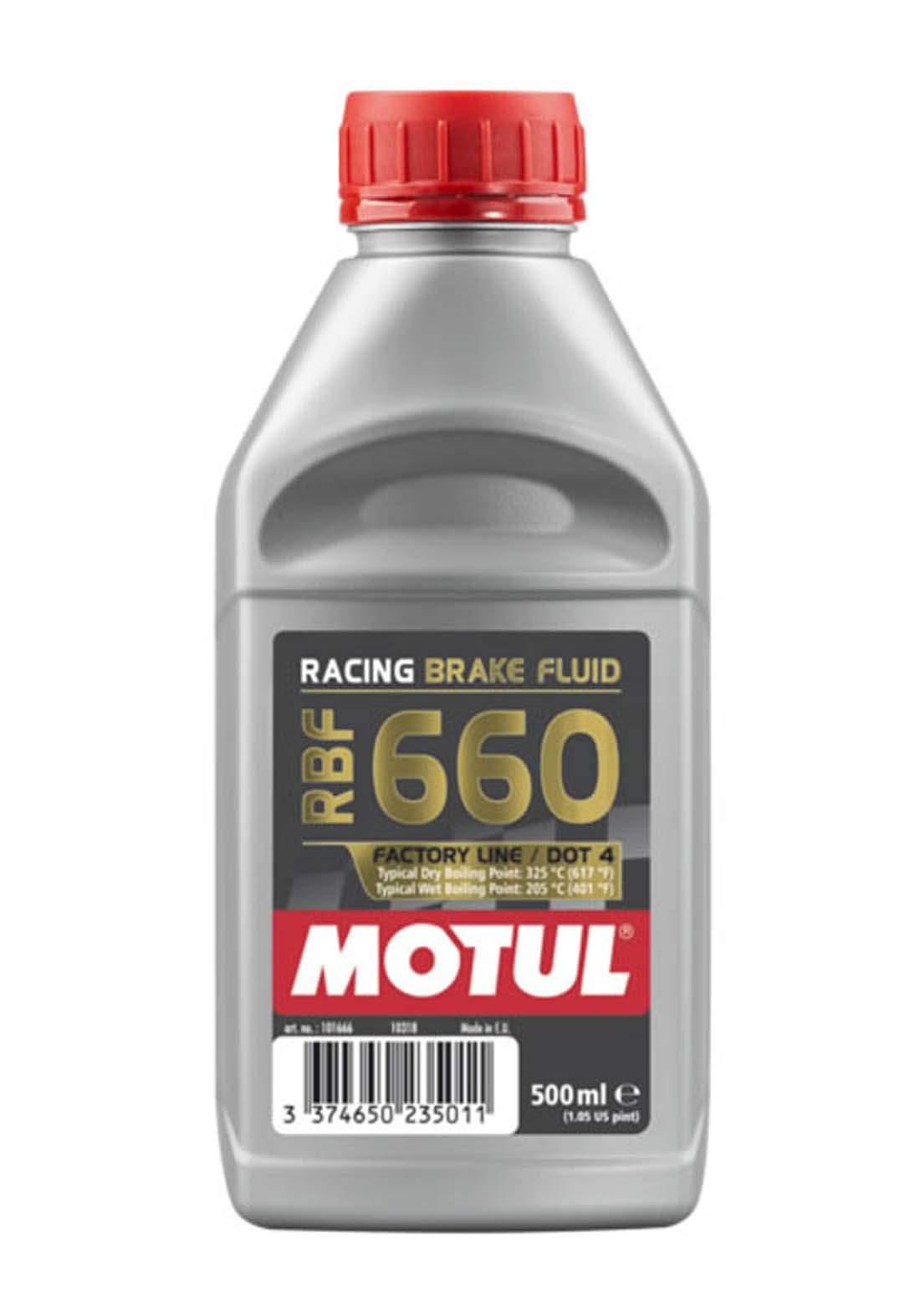 Motul Dot4 660 Brake Fluid  Fully Synthetic 500 ml زيت للفرامل