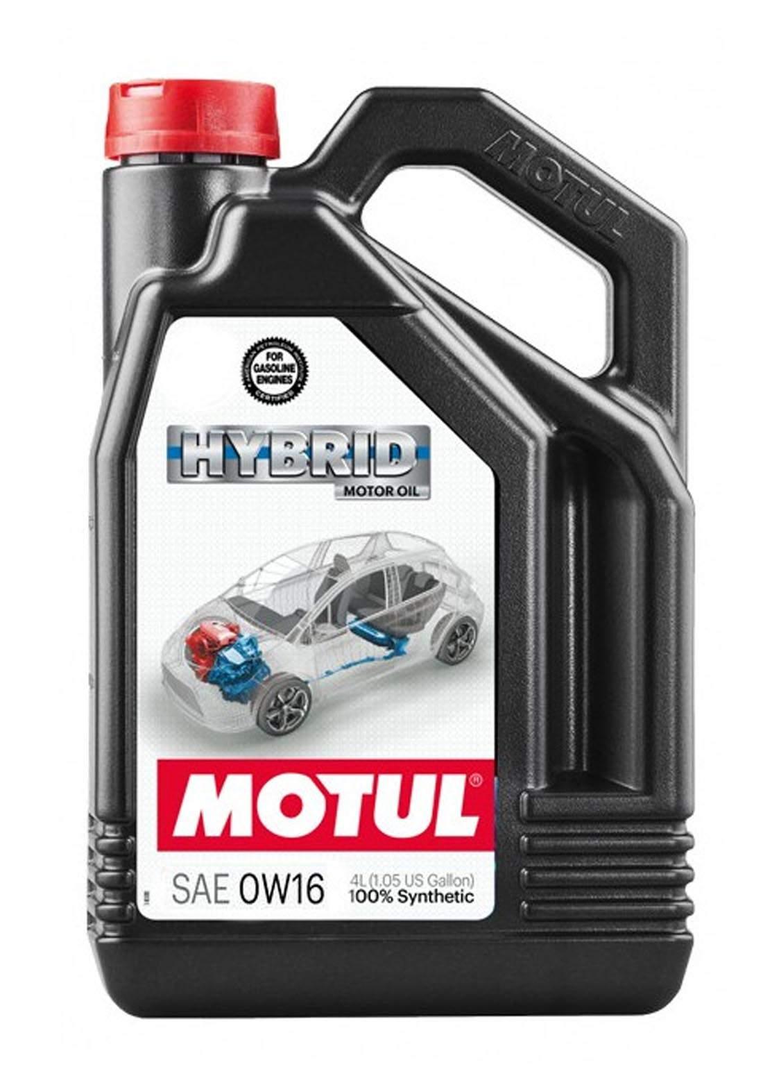 Motul 0w16 Hybrid 100% Synthetic Oil 4L  زيت تخليقي 100% للسيارات