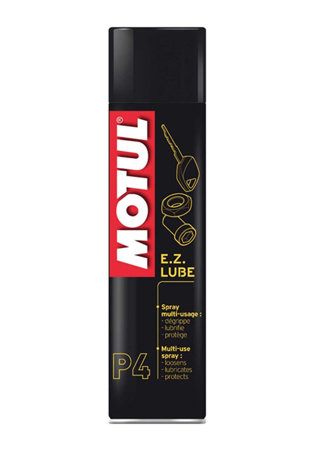 Motul P4 E Z Lube Multi-Purpose Fluid Lubricant  400ml زيت تشحيم متعدد الحماية للدراجات النارية