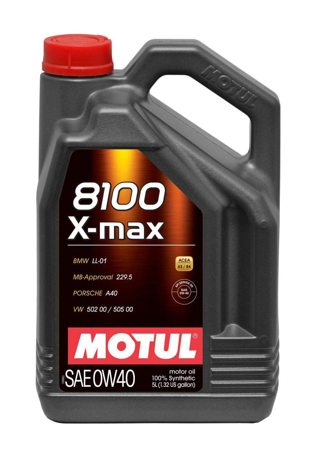 Motul 0w40 Xmax 8100 100% Synthetic oil 4L  زيت تخليقي 100% للسيارات