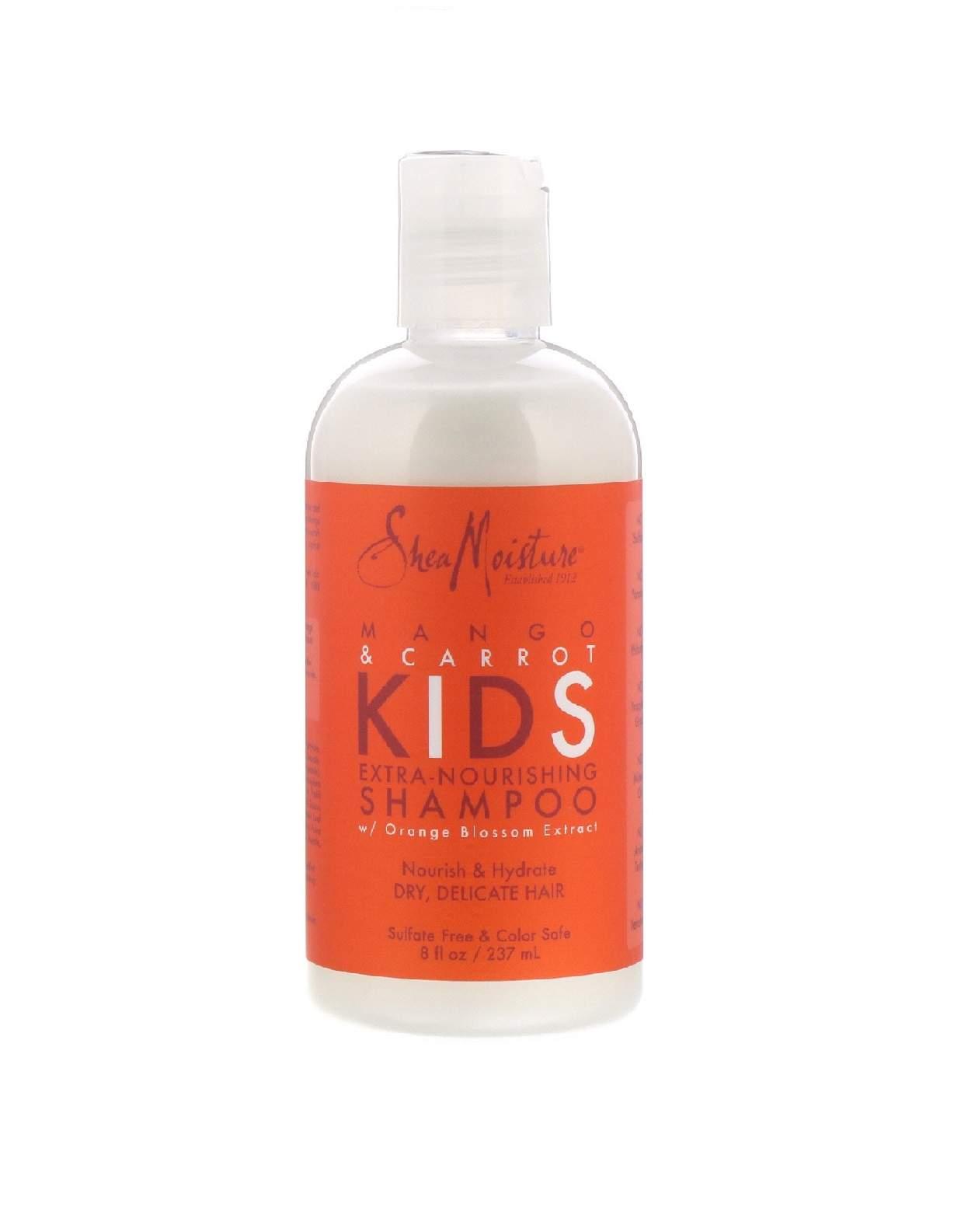 SheaMoisture Kids - Mango & Carrot - Extra-Nourishing Shampoo 236ml شامبو مغذي للاطفال