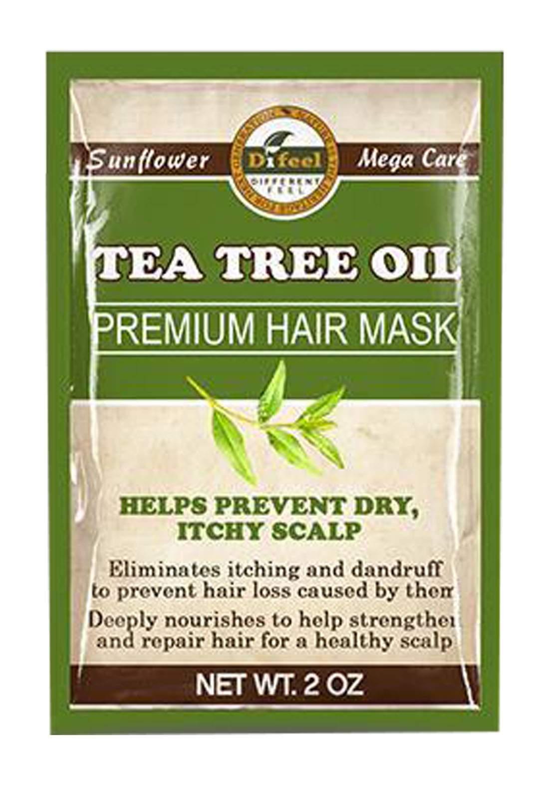 Difeel SH31_TEA18 Sunflower Premium Hair Mask Tea Tree Oil 50g  قناع للشعر