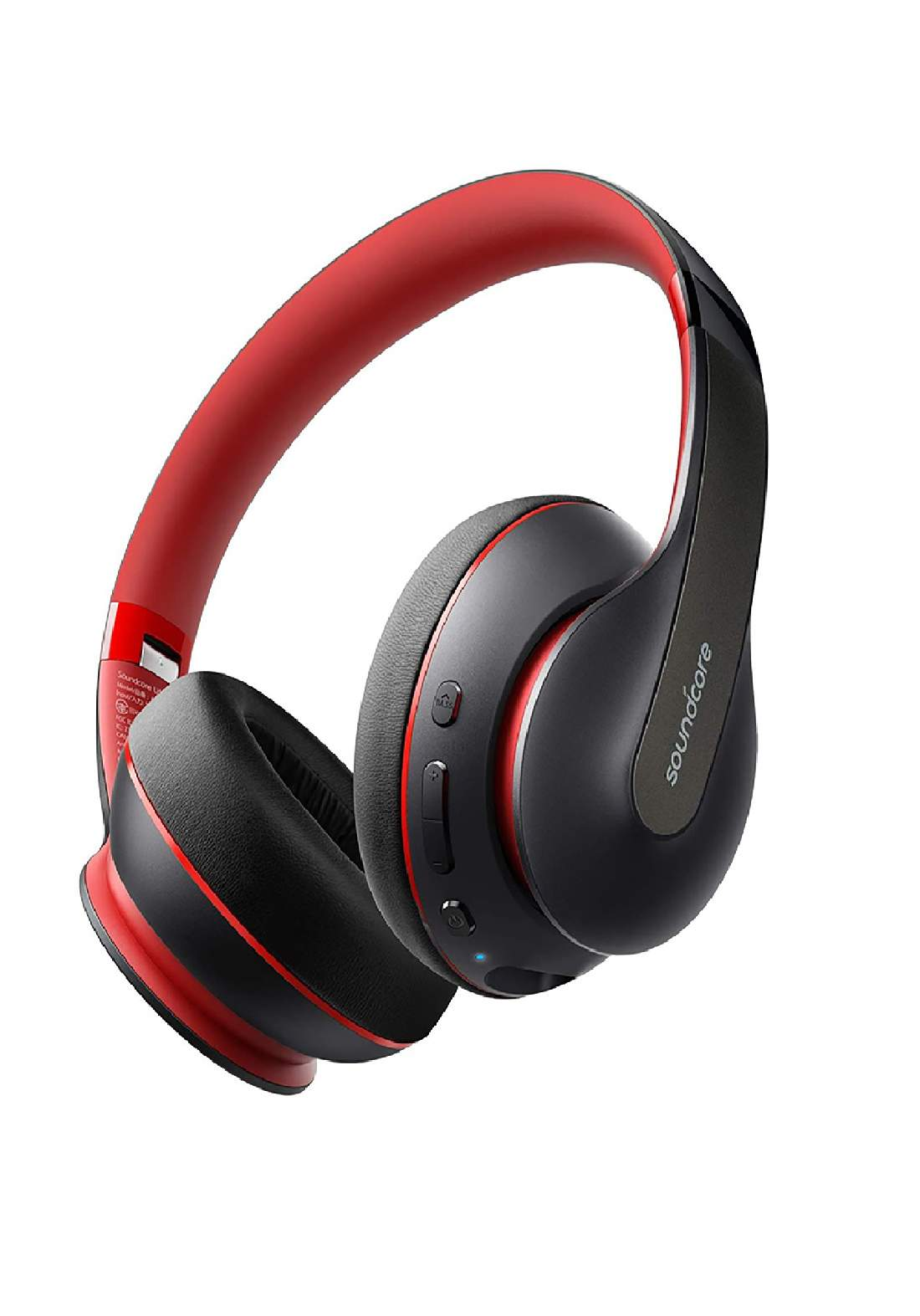 Anker A3032 Soundcore Life Q10 Wireless Bluetooth Headphones - Red  سماعة