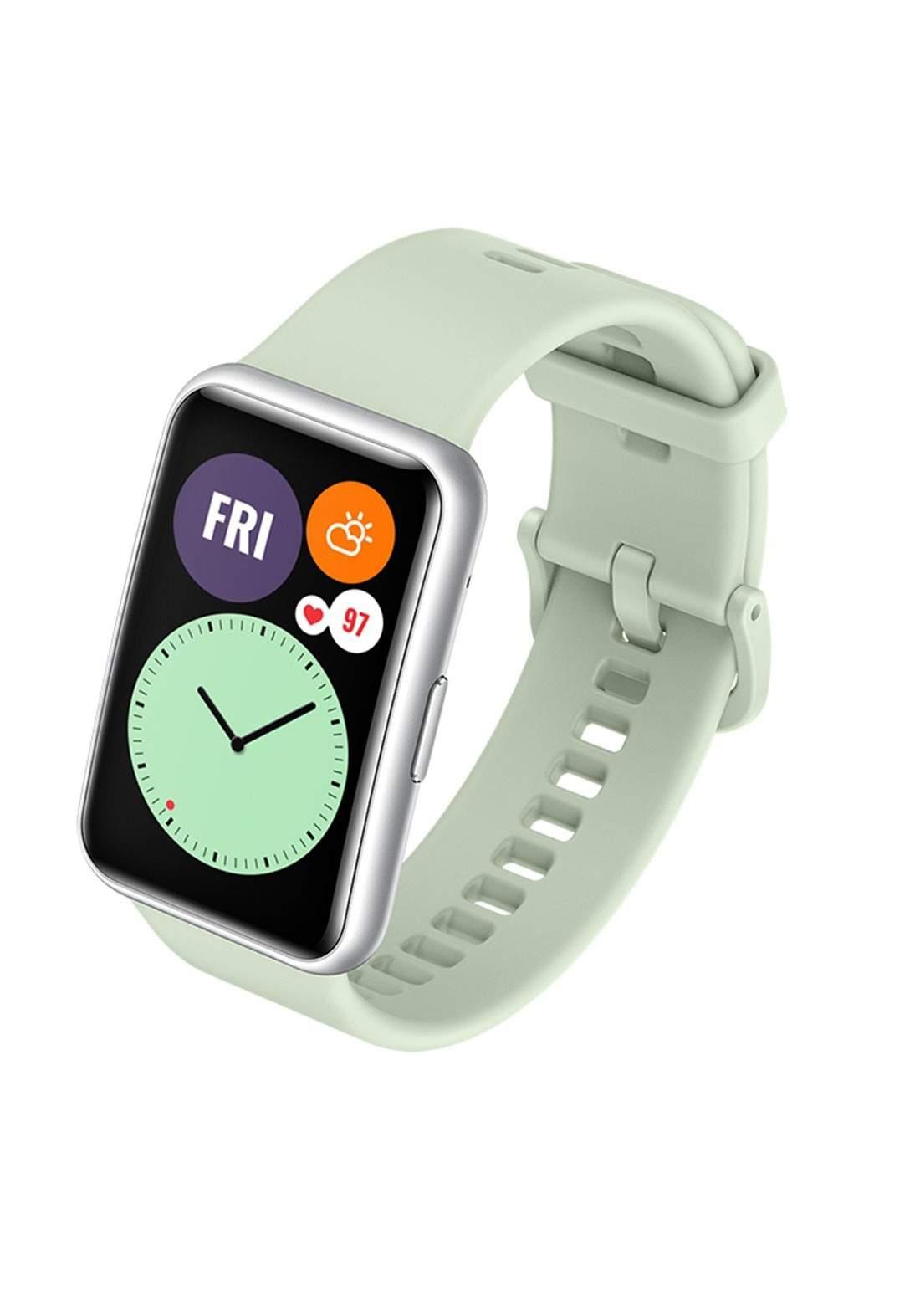 Huawei  TIA-B09 1.64 inch  Smart Watch Fit -  Green ساعة ذكية