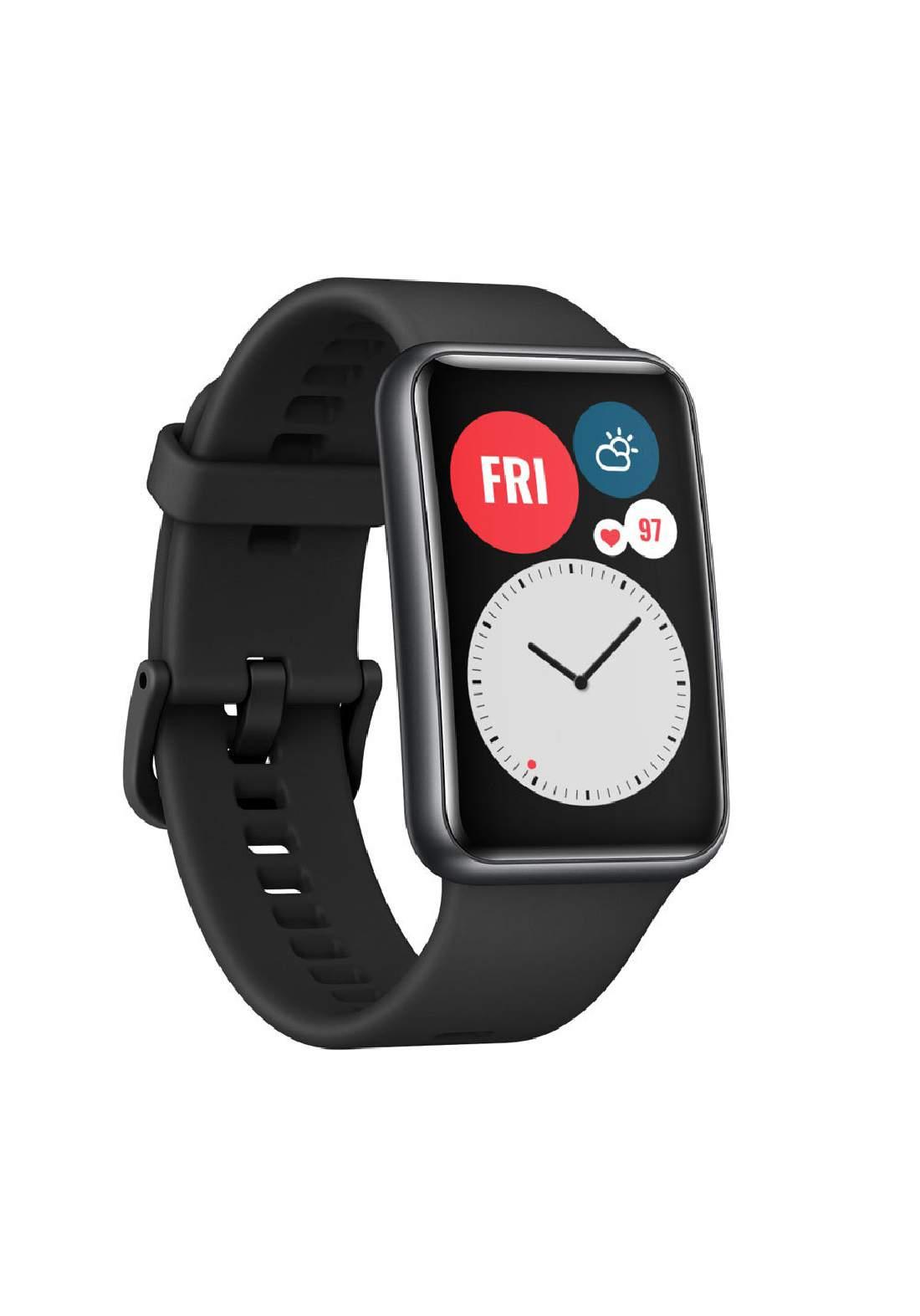 Huawei  TIA-B09 1.64 inch  Smart Watch Fit -  Black ساعة ذكية