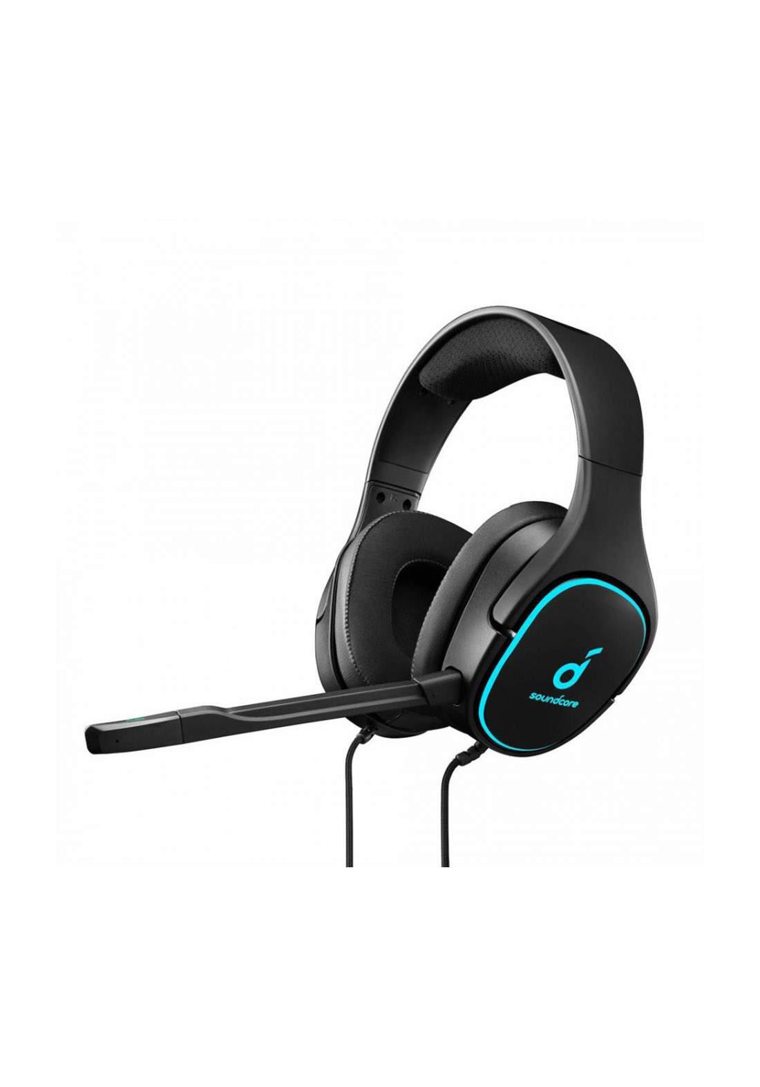 Anker A38300 Virtual 7.1 Surround Sound Headphones - Black سماعة
