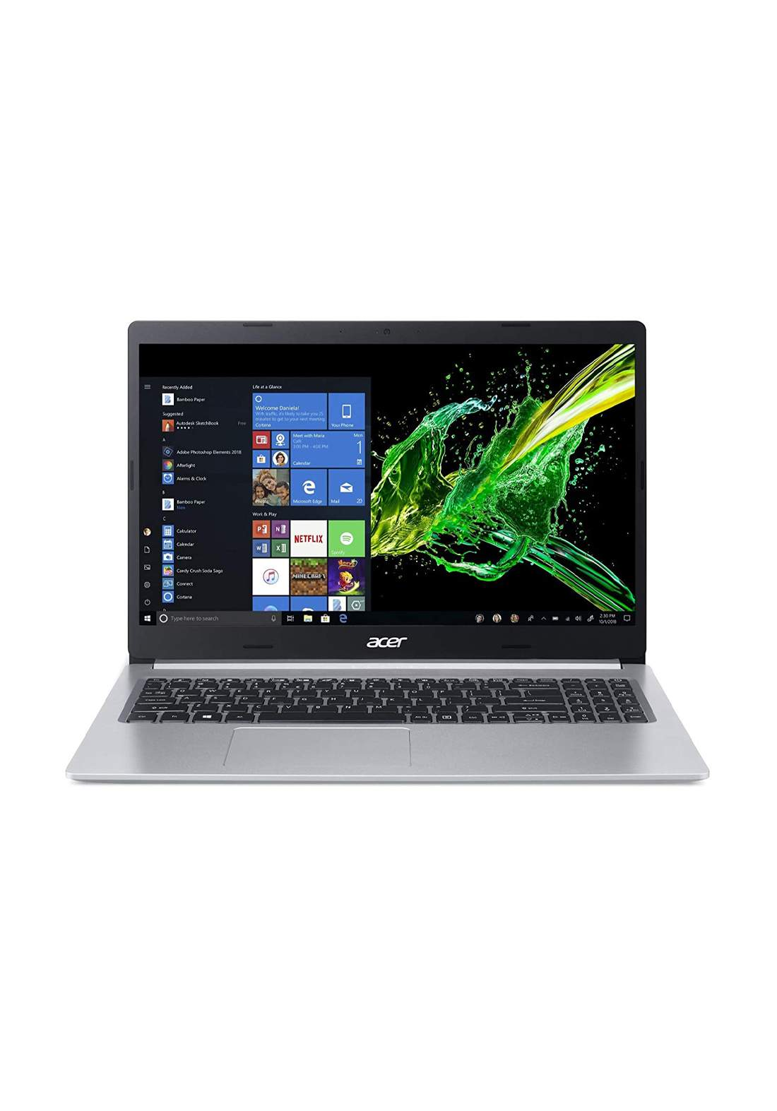 Acer Spin 314 Laptop - Core i5-1035G1 - 8 GB RAM - 256 GB SSD - Grey