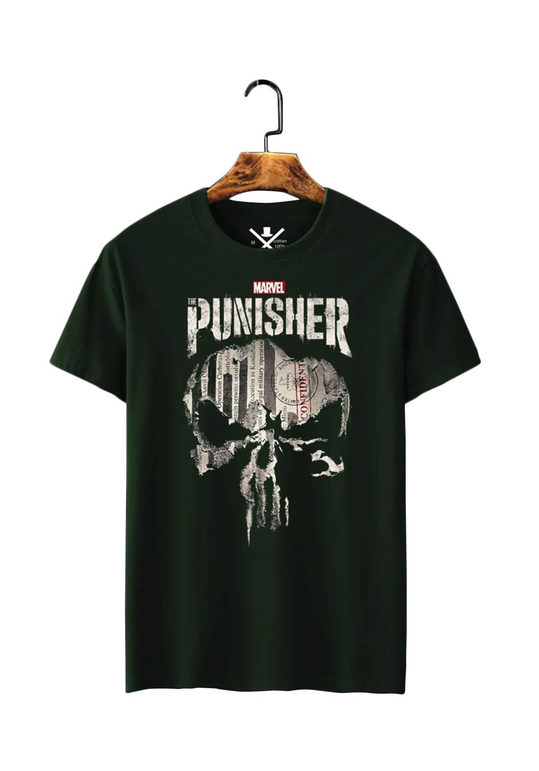 تيشيرت رجالي Punisher نصف كم