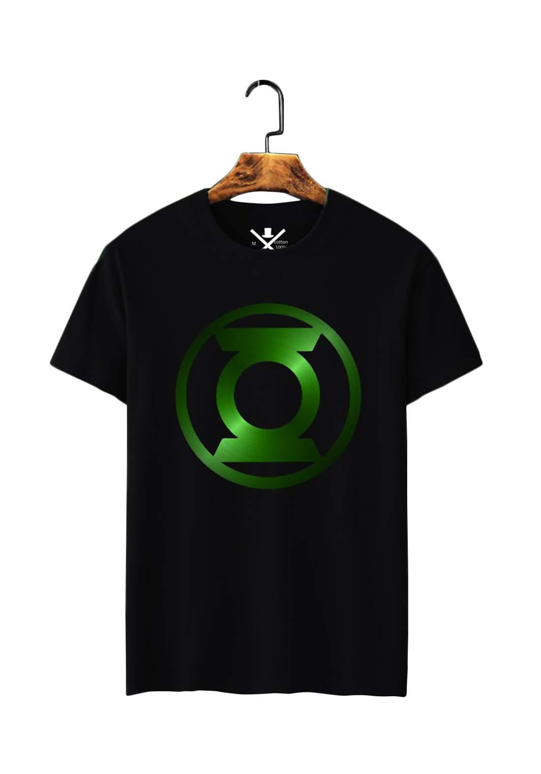 تيشيرت رجالي Green Lantern نصف كم