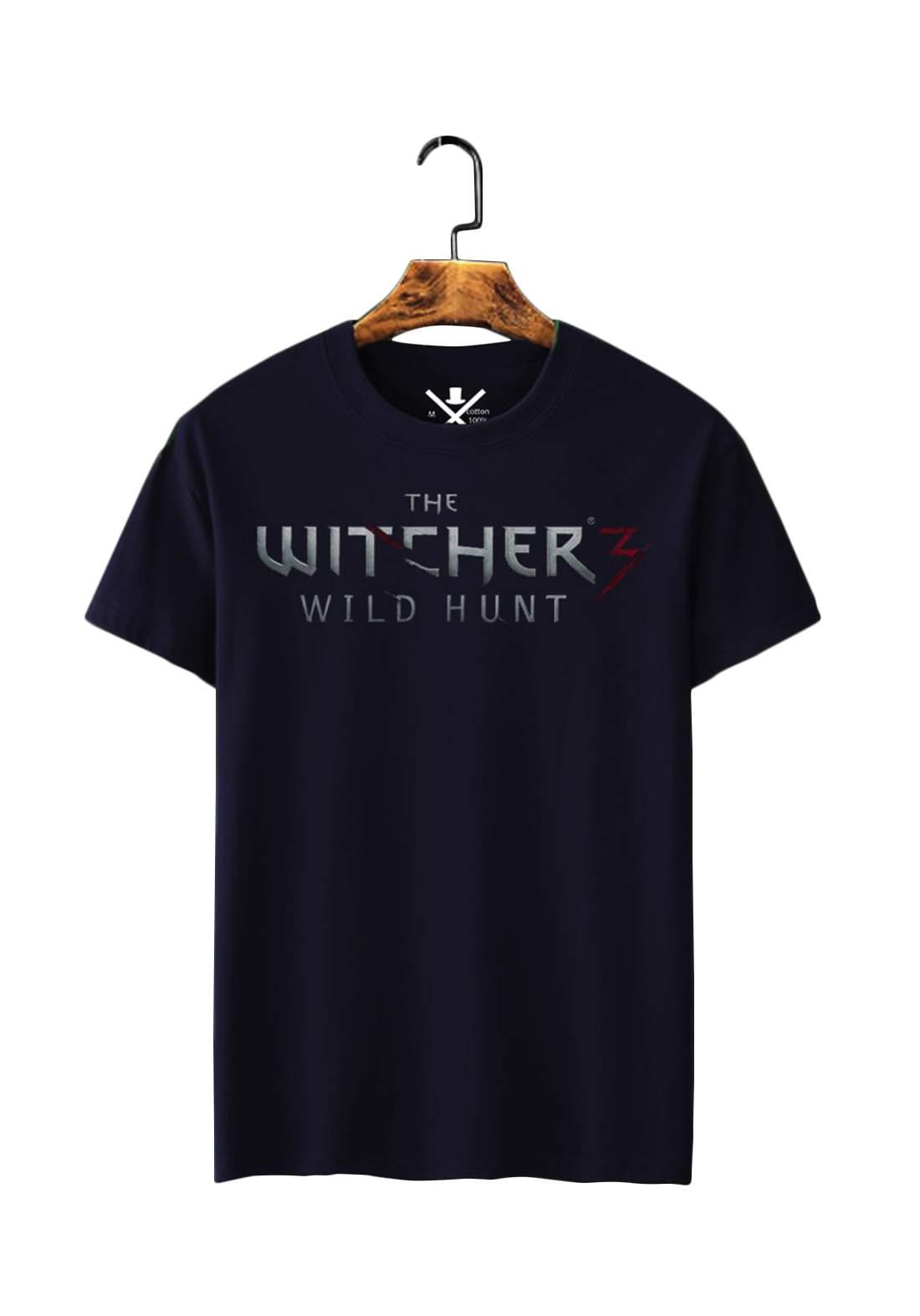تيشيرت رجالي The Witcher نصف كم