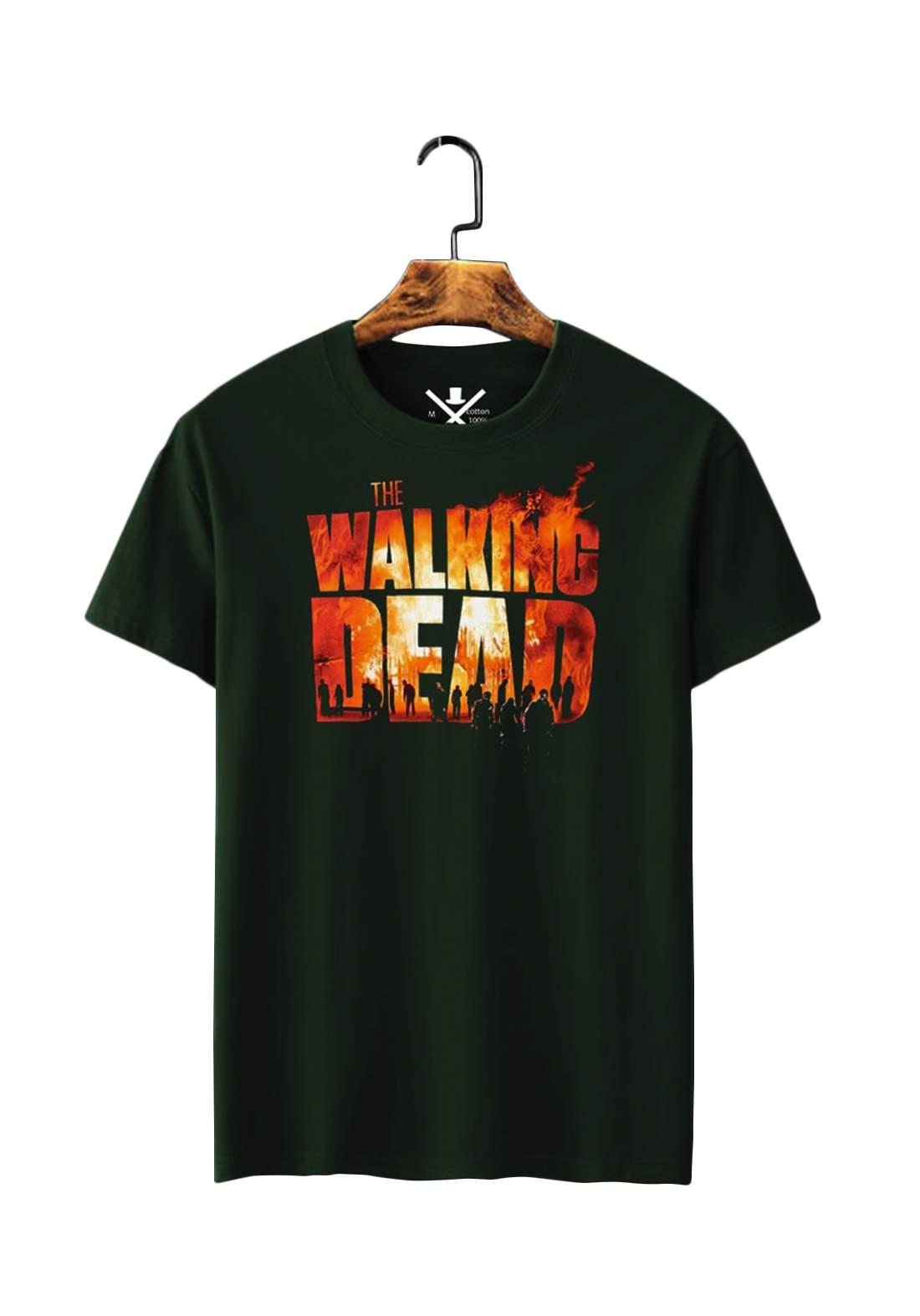 تيشيرت رجاليThe Walking Dead نصف كم