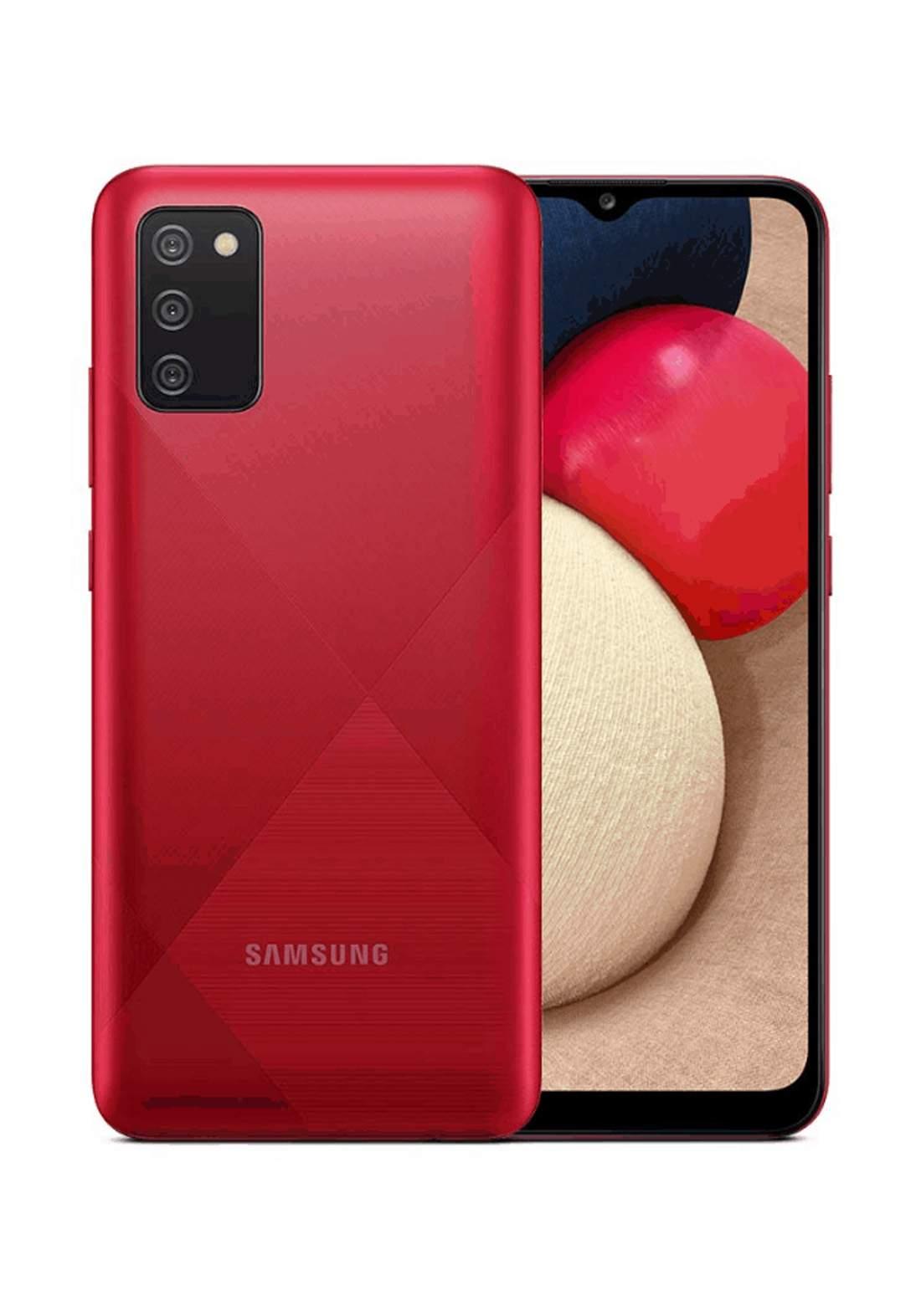 Samsung Galaxy A02s Dual SIM 4 GB RAM 64 GB - Red