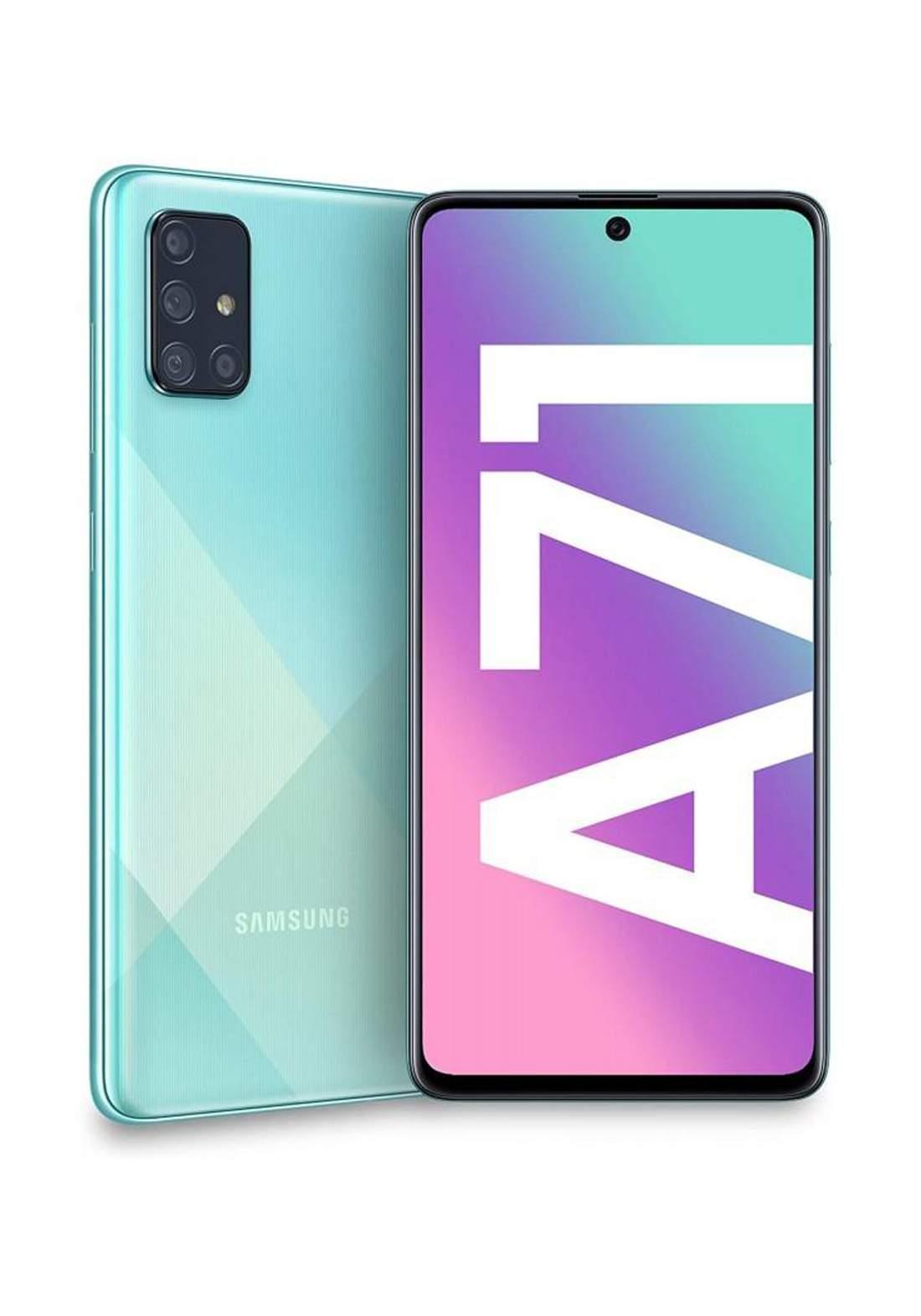 Samsung GalaxyA71 Dual SIM  GB RAM 128 GB-Green