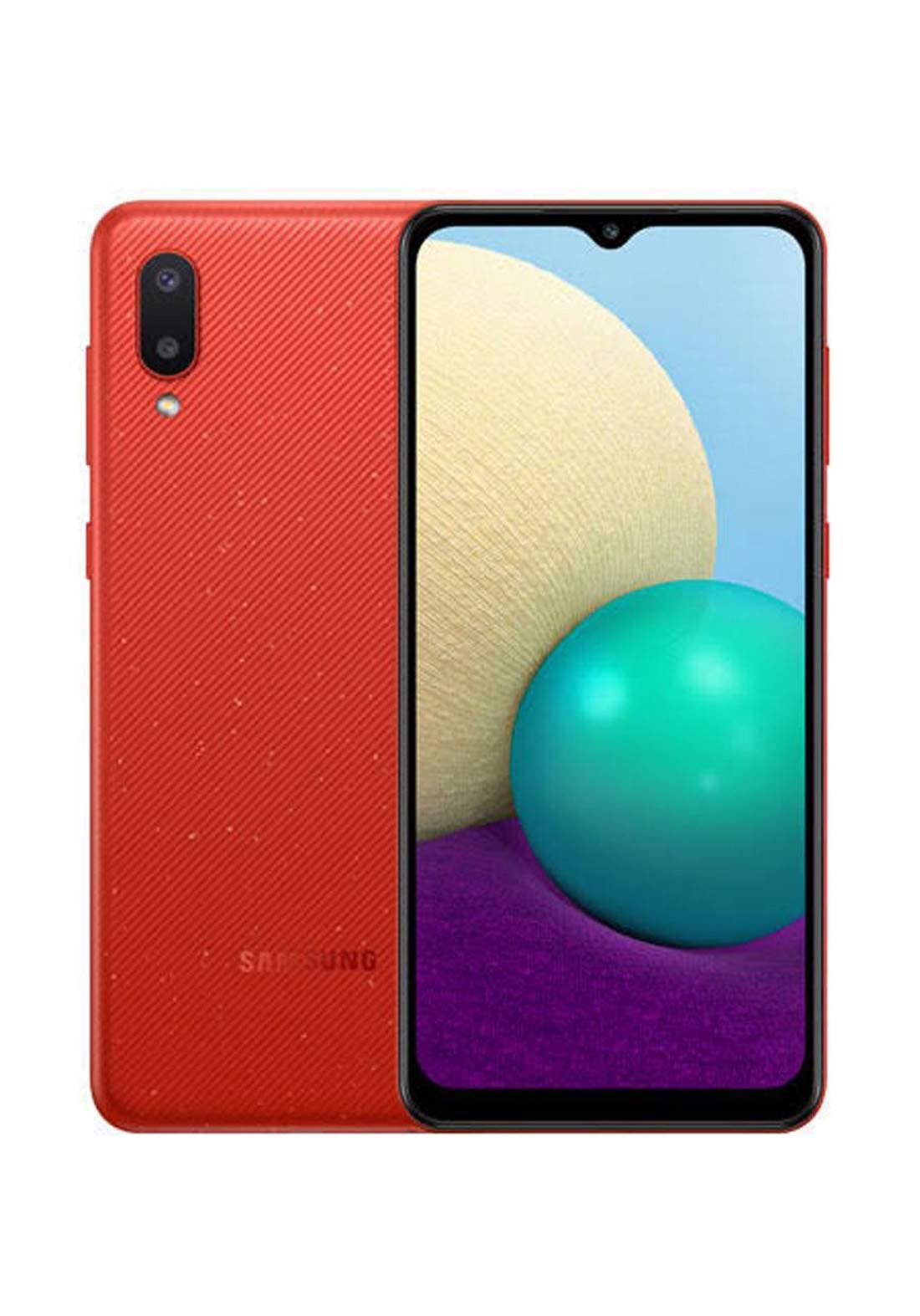 Samsung Galaxy A02 Dual SIM 3 GB Ram 64 GB-  Red