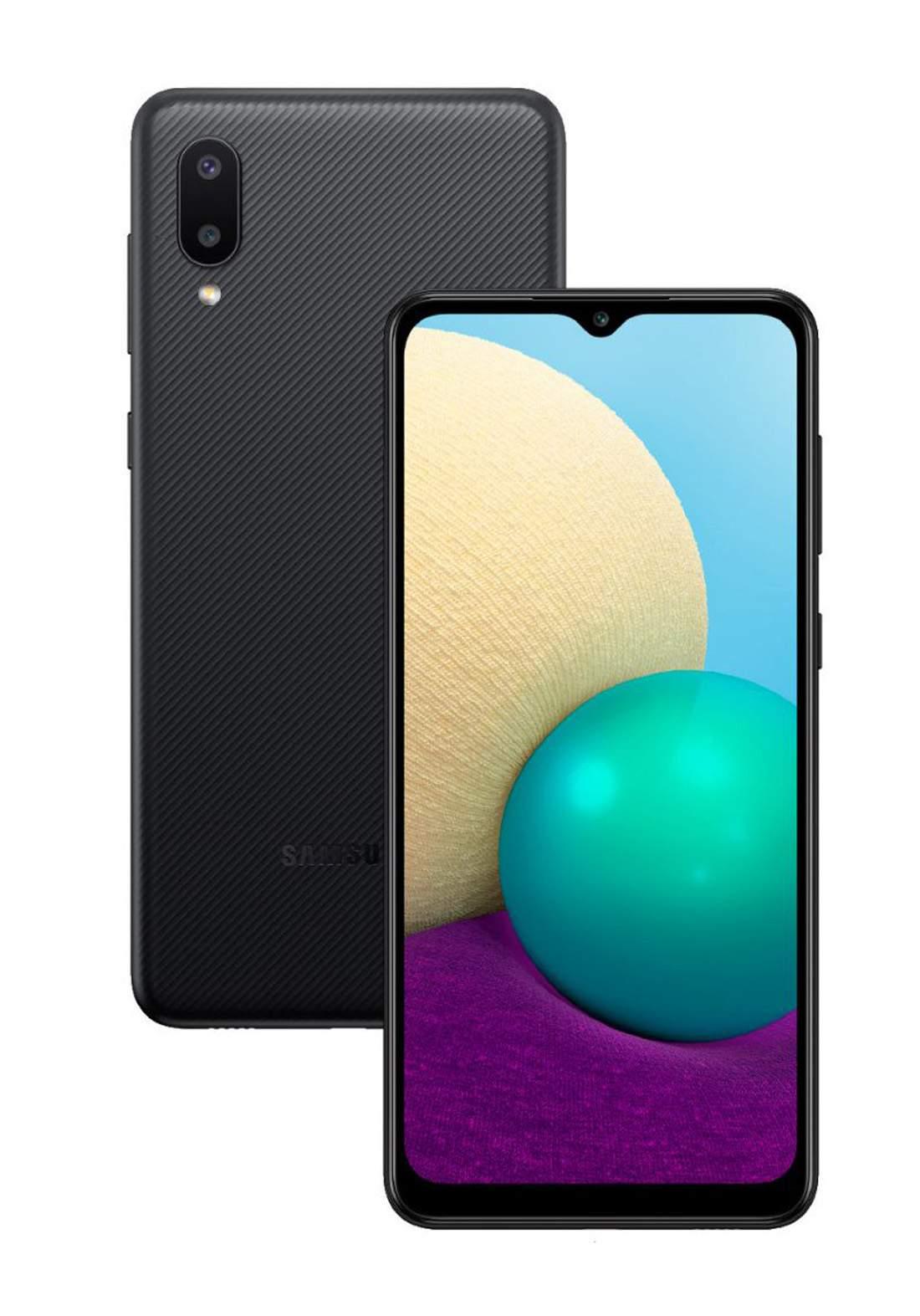 Samsung Galaxy A02 Dual SIM 3 GB Ram 64 GB- Black